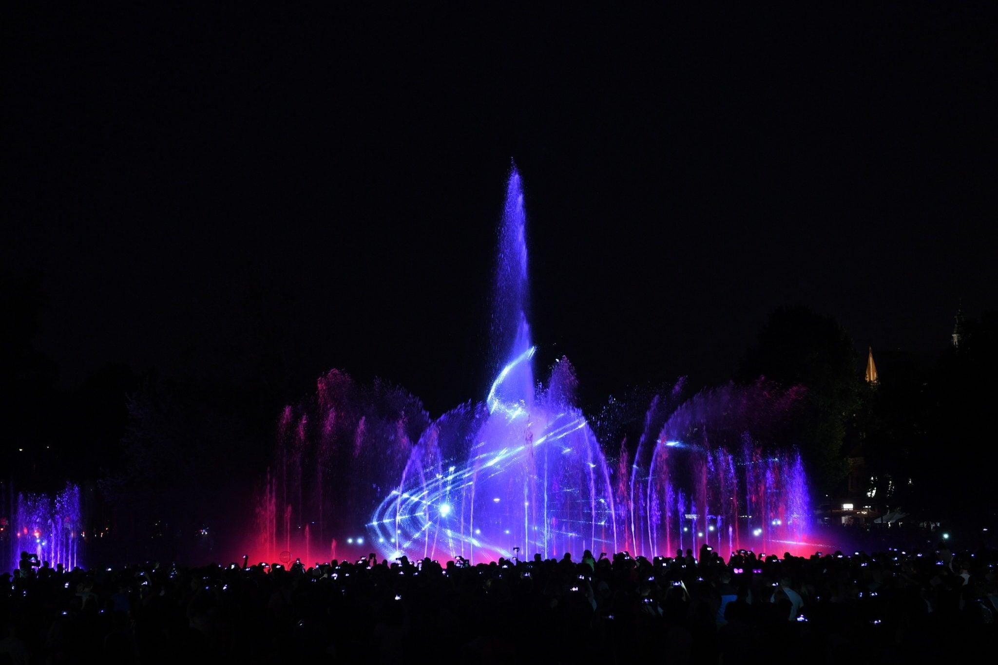 Warszawa: projekcja widowiska