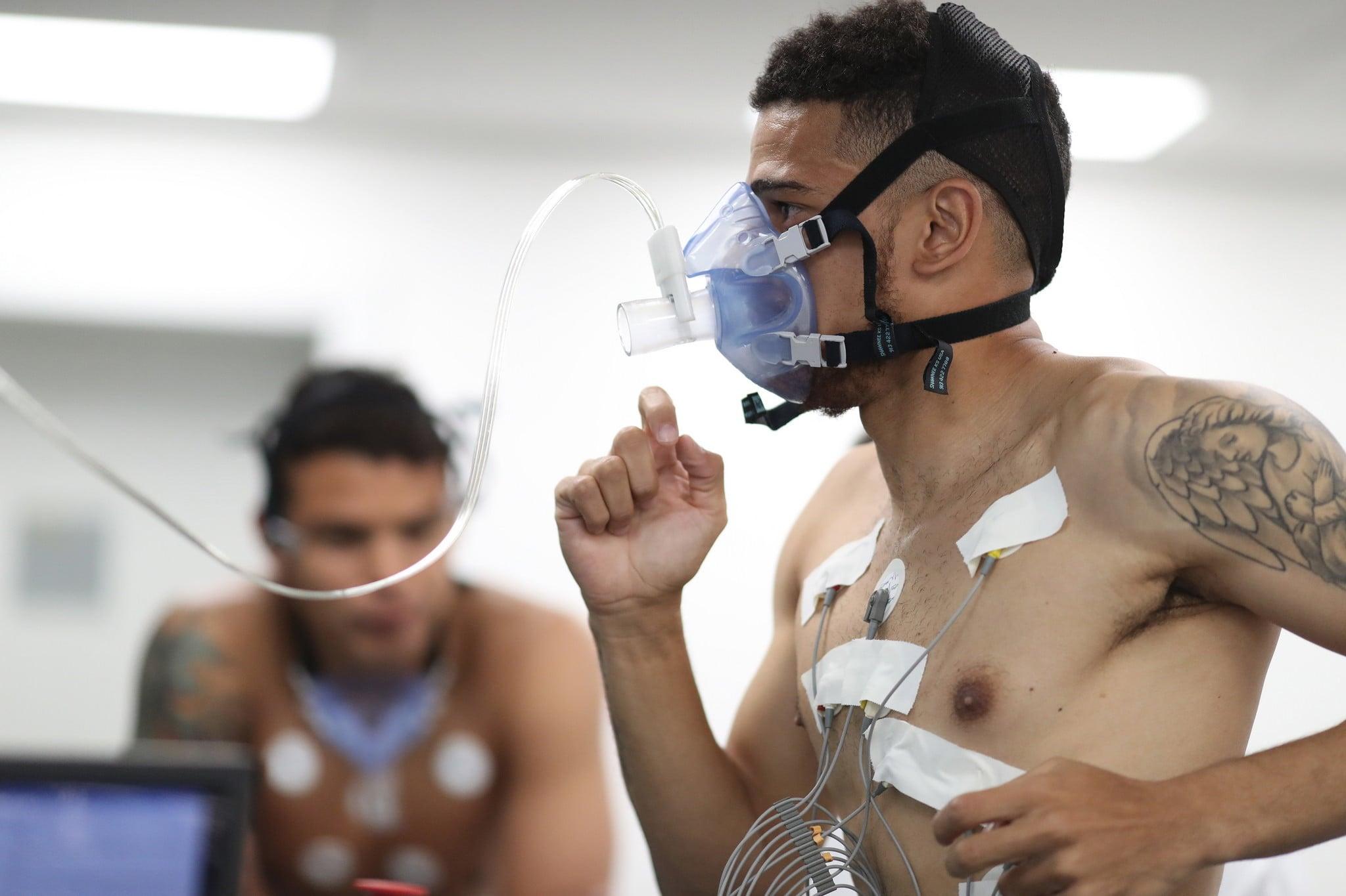 Brazylia: zawodnicy drużyny narodowej przygotowują się do Mundialu, fot: Lucas Figueiredo, PAP/EPA