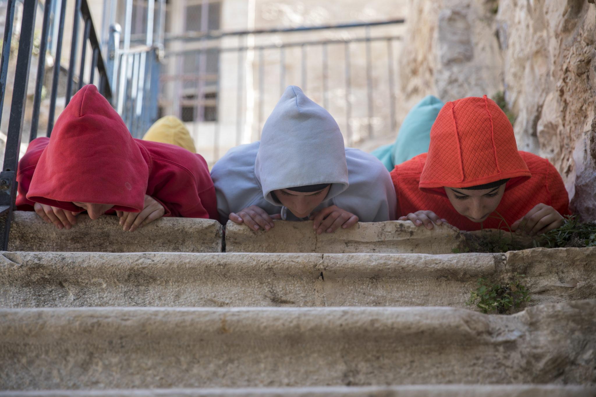 Izrael: tancerze izraelscy występują w projekcie