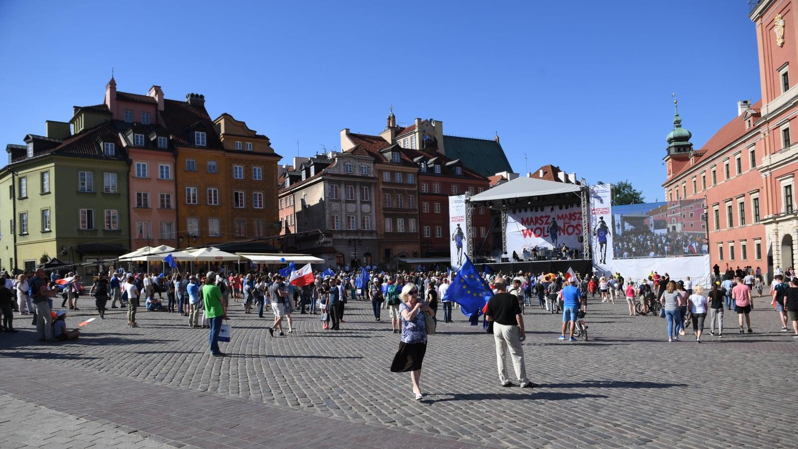 Marsz Wolność w Warszawie