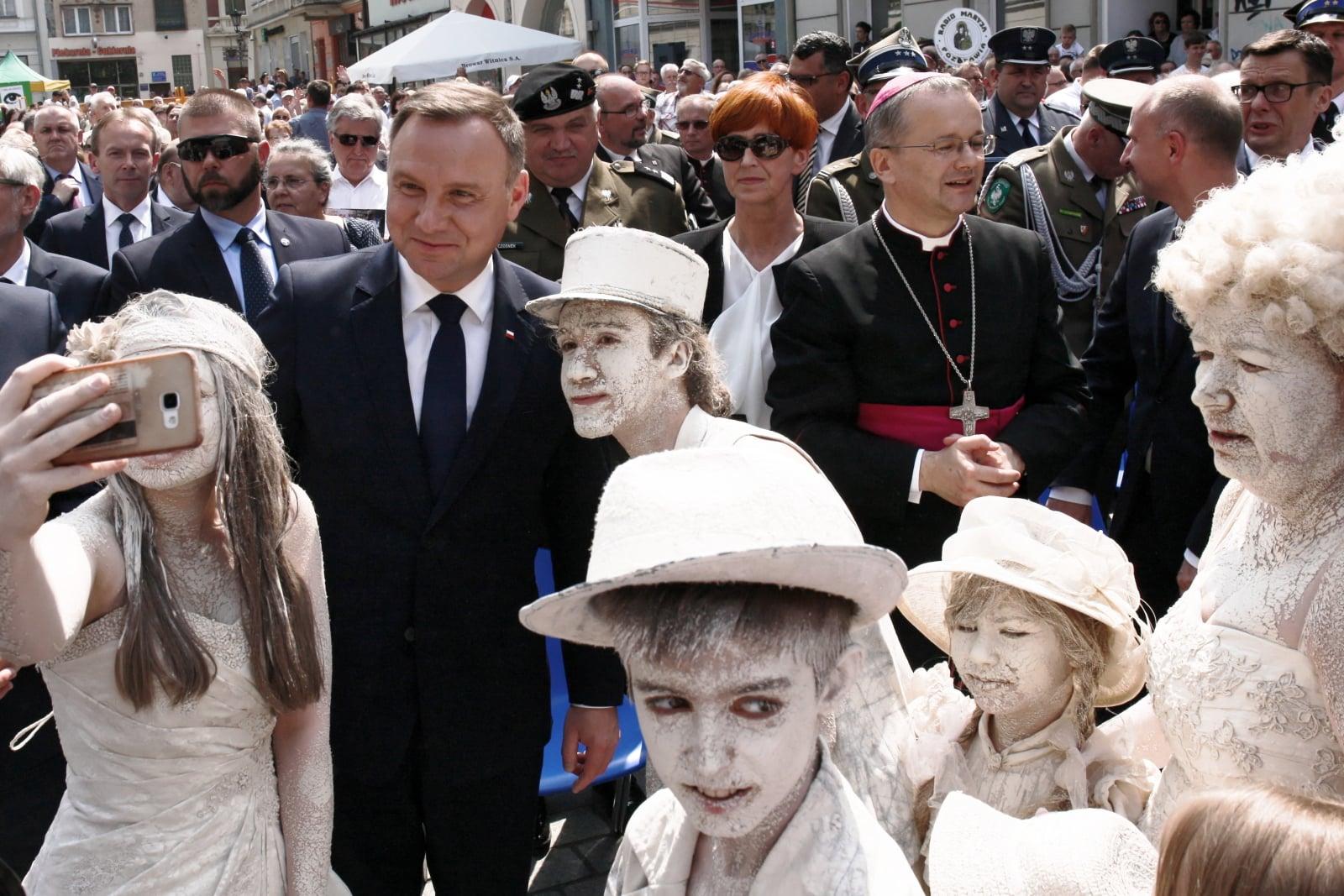 Andrzej Duda w Zielonej Górze