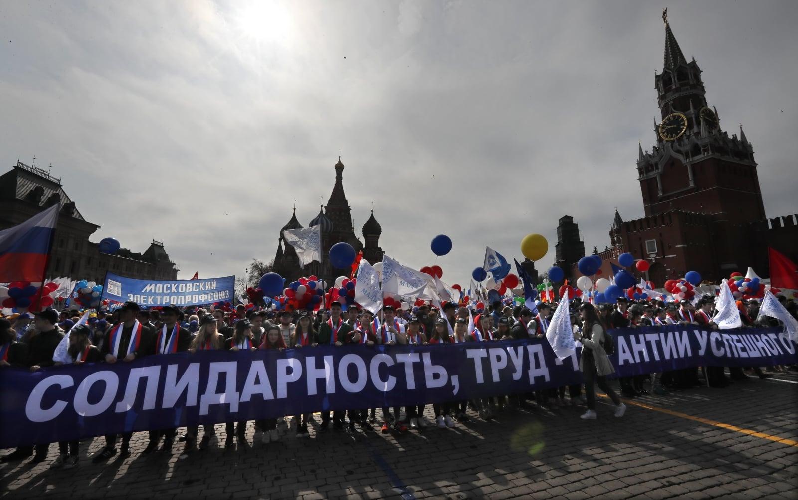 Rosja EPA/YURI KOCHETKOV