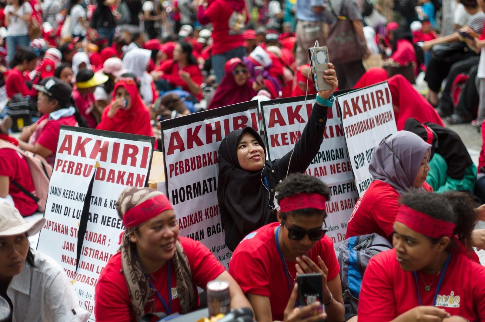 Indonezja EPA/JEROME FAVRE