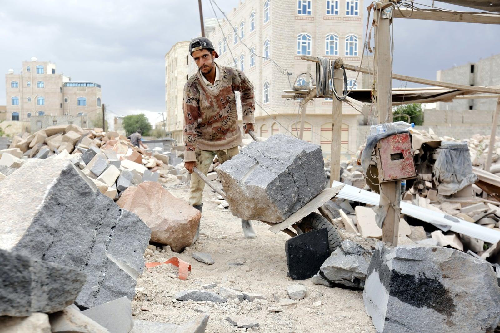 Jemen  EPA/YAHYA ARHAB