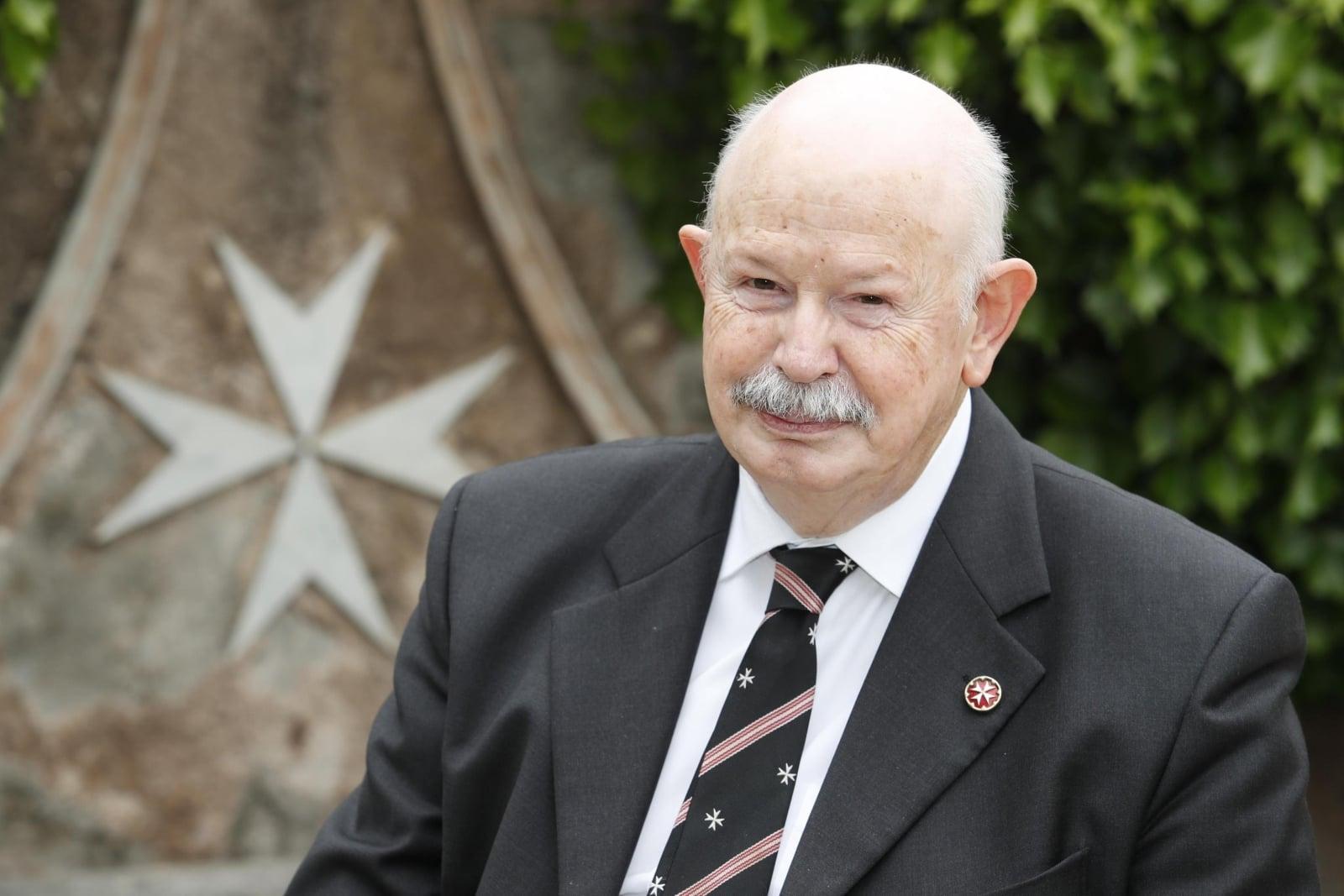Giacomo Dalla Torre, nowy Wielki Mistrz Zakonu Maltańskiego.