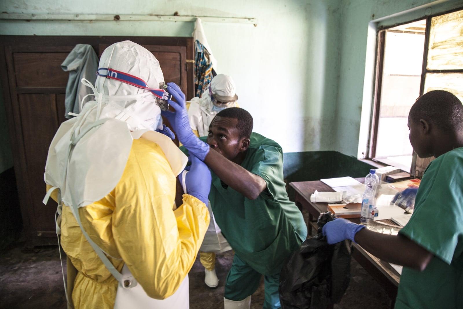Nawrót epidemii Eboli fot. EPA/MARK NAFTALIN