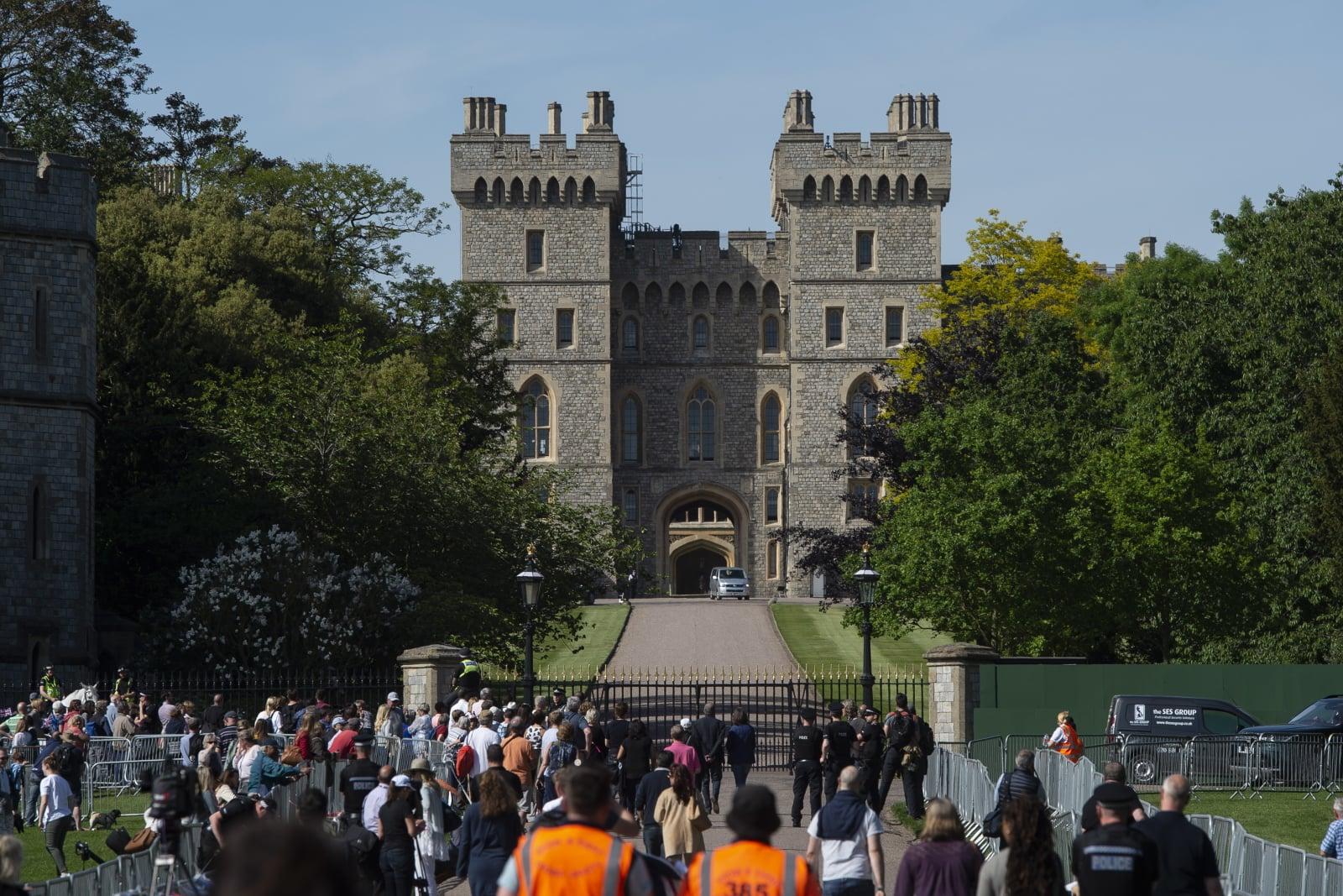 Ślub w rodzinie królewskiej Wielkiej Brytanii fot. EPA/WILL OLIVER