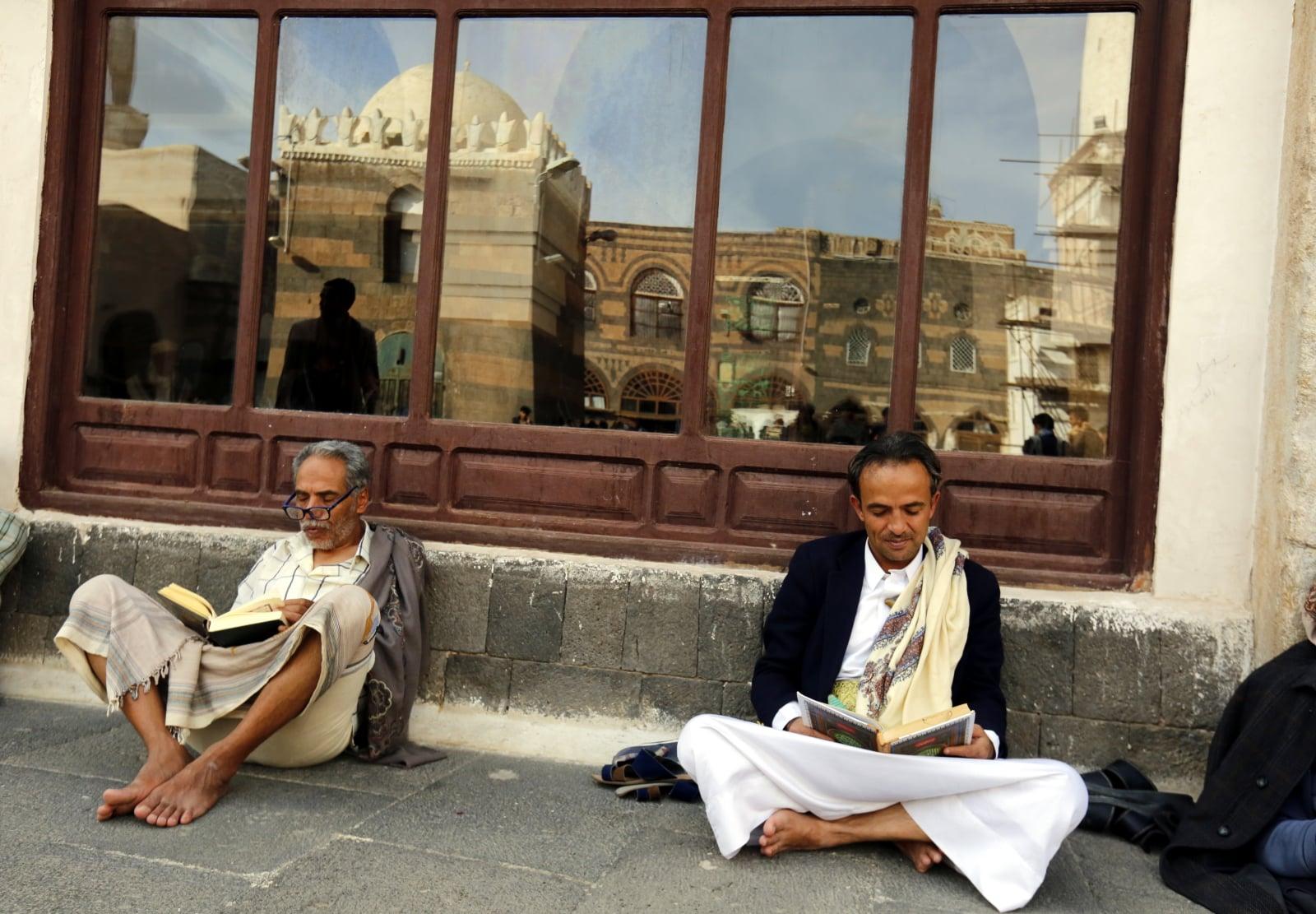 Początek ramadanu fot. EPA/YAHYA ARHAB