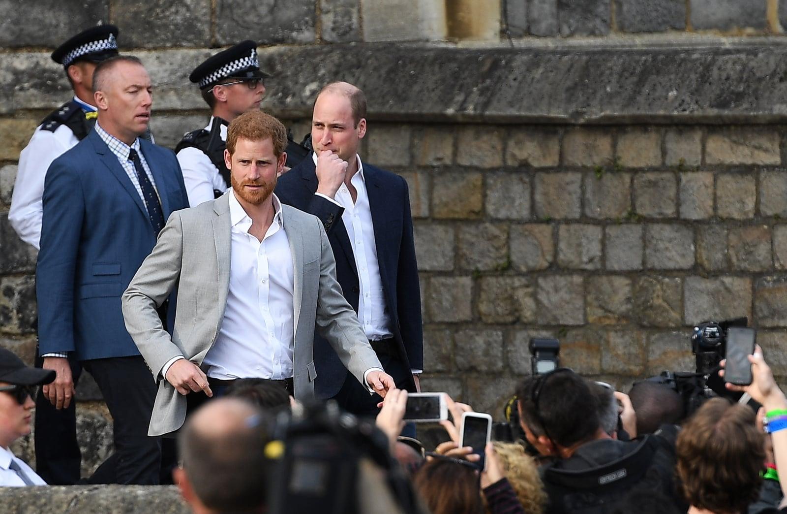 Wielka Brania, Książe Harry przed ślubem spotyka się z Brytyjczykami