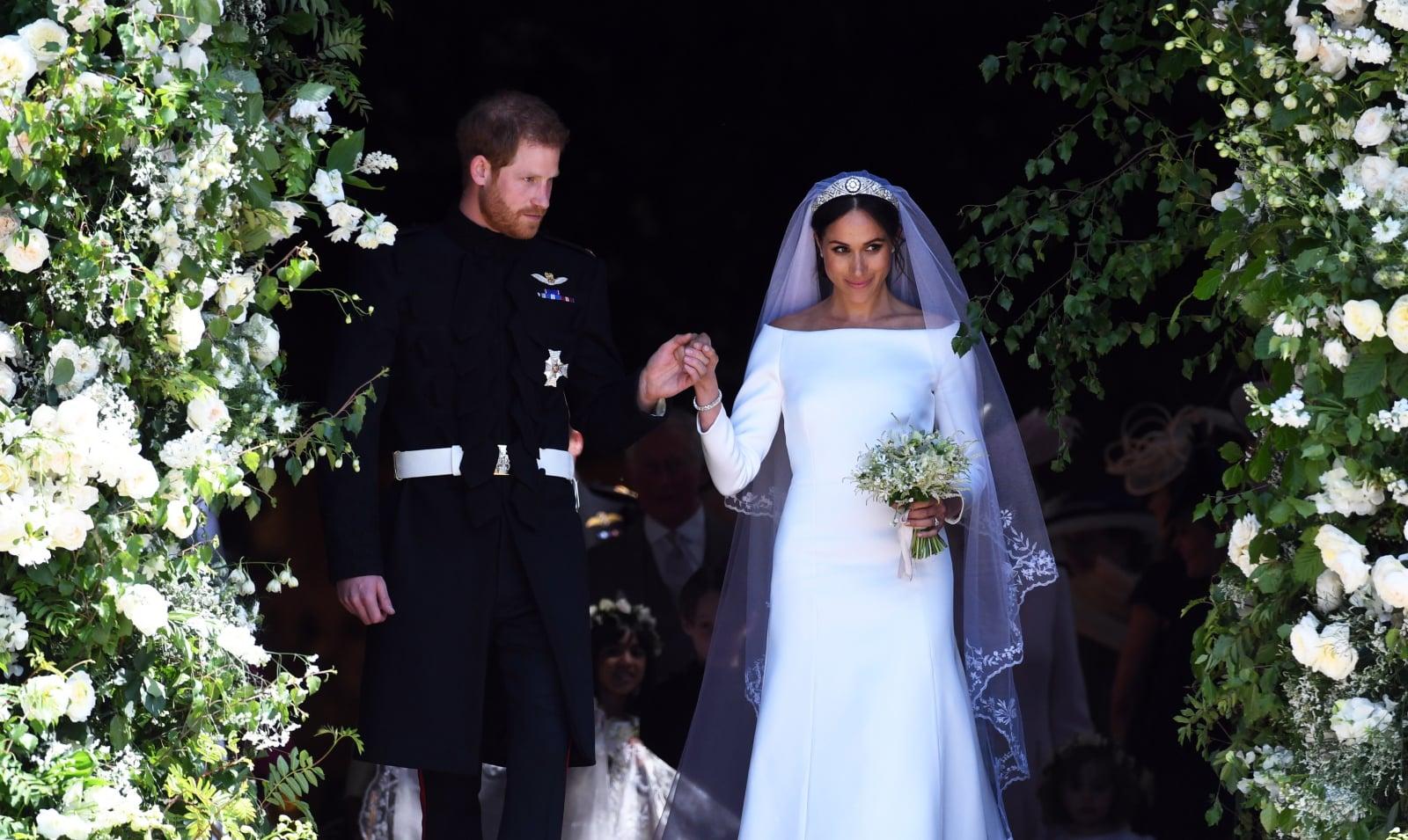 Ślub w rodzinie królewskiej Wielkiej Brytanii fot. EPA/Neil Hall