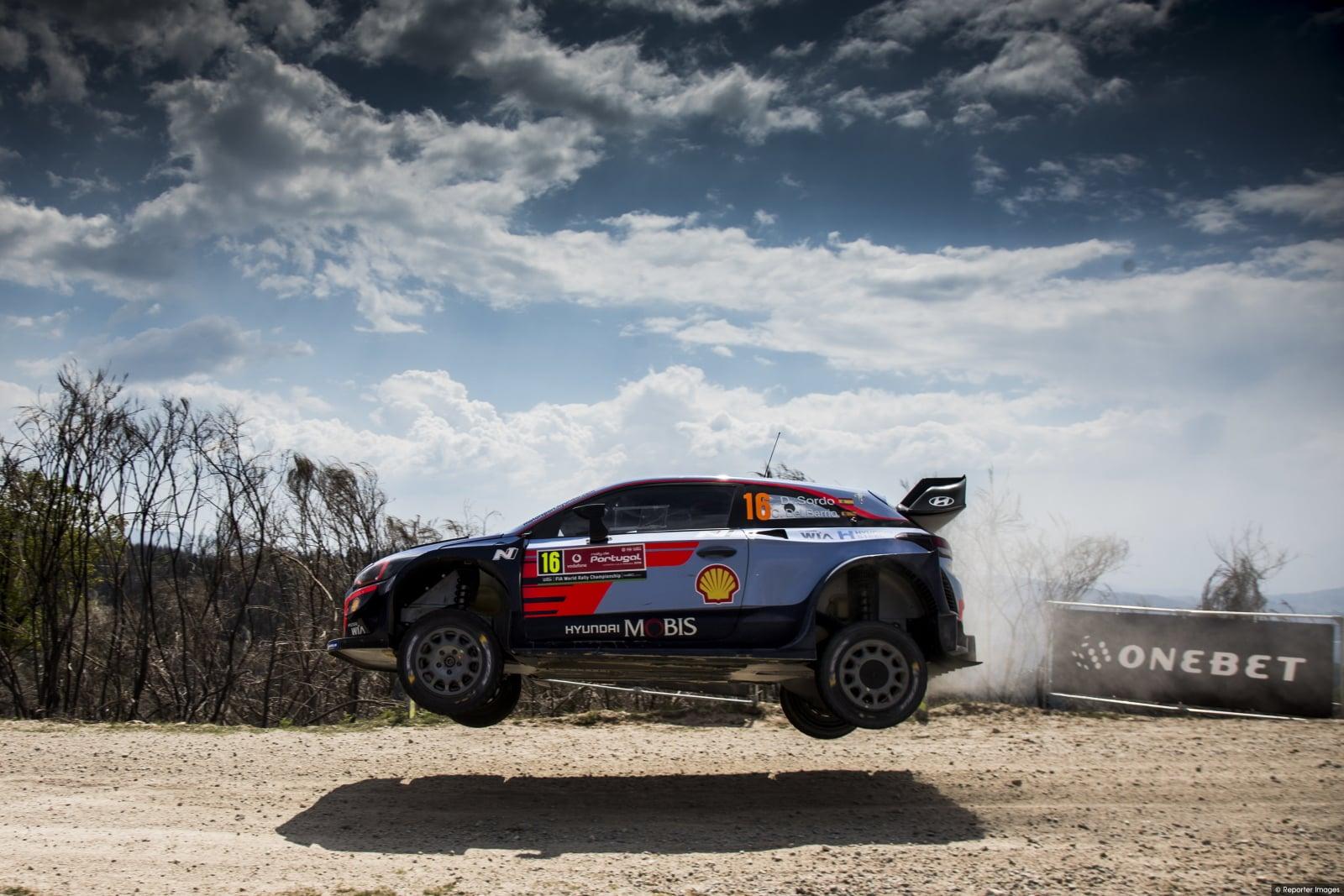 Wyścig WRC w Portugalii fot. EPA/ANNA KALAGANI
