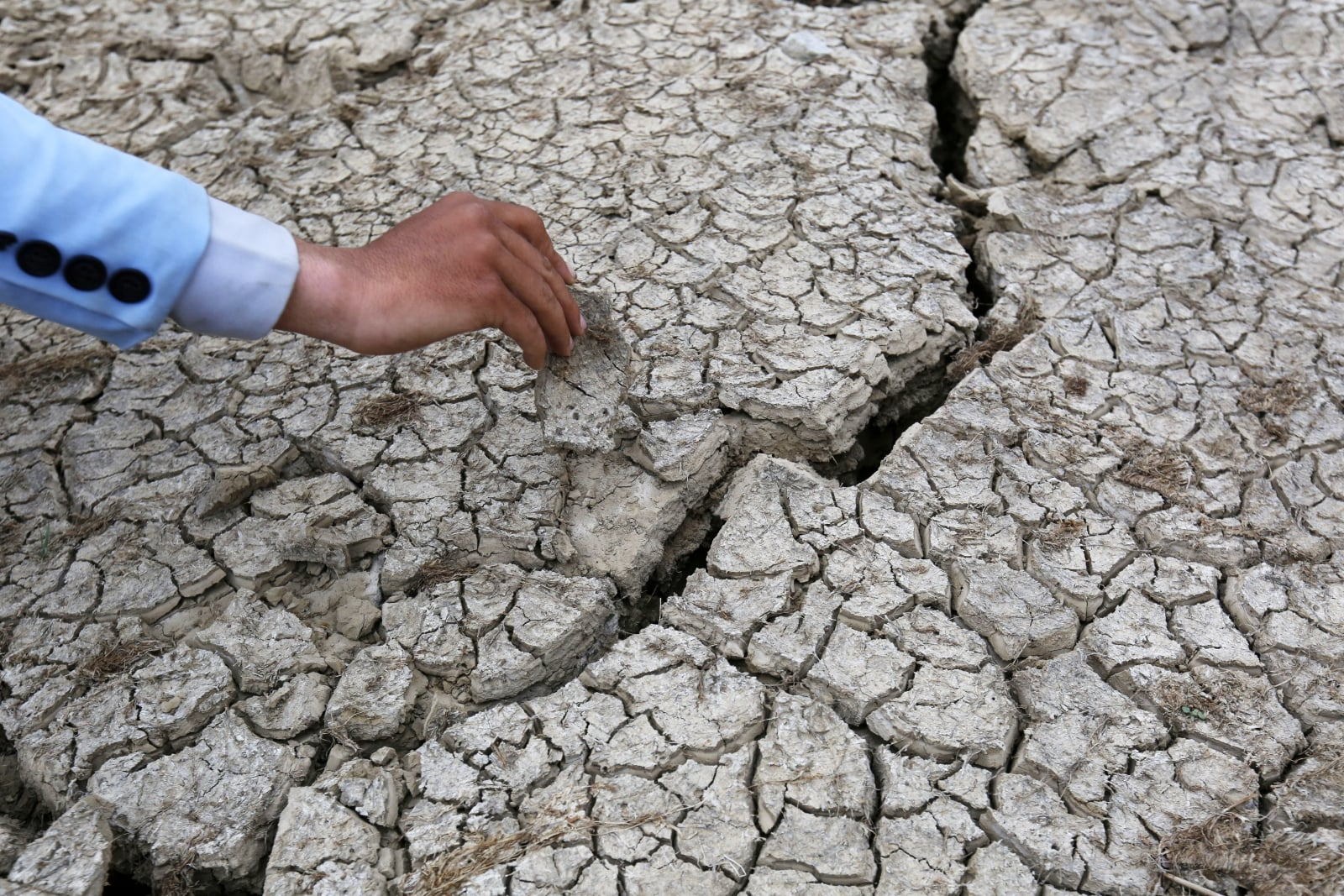 Sucha w Jemenie fot. EPA/YAHYA ARHAB
