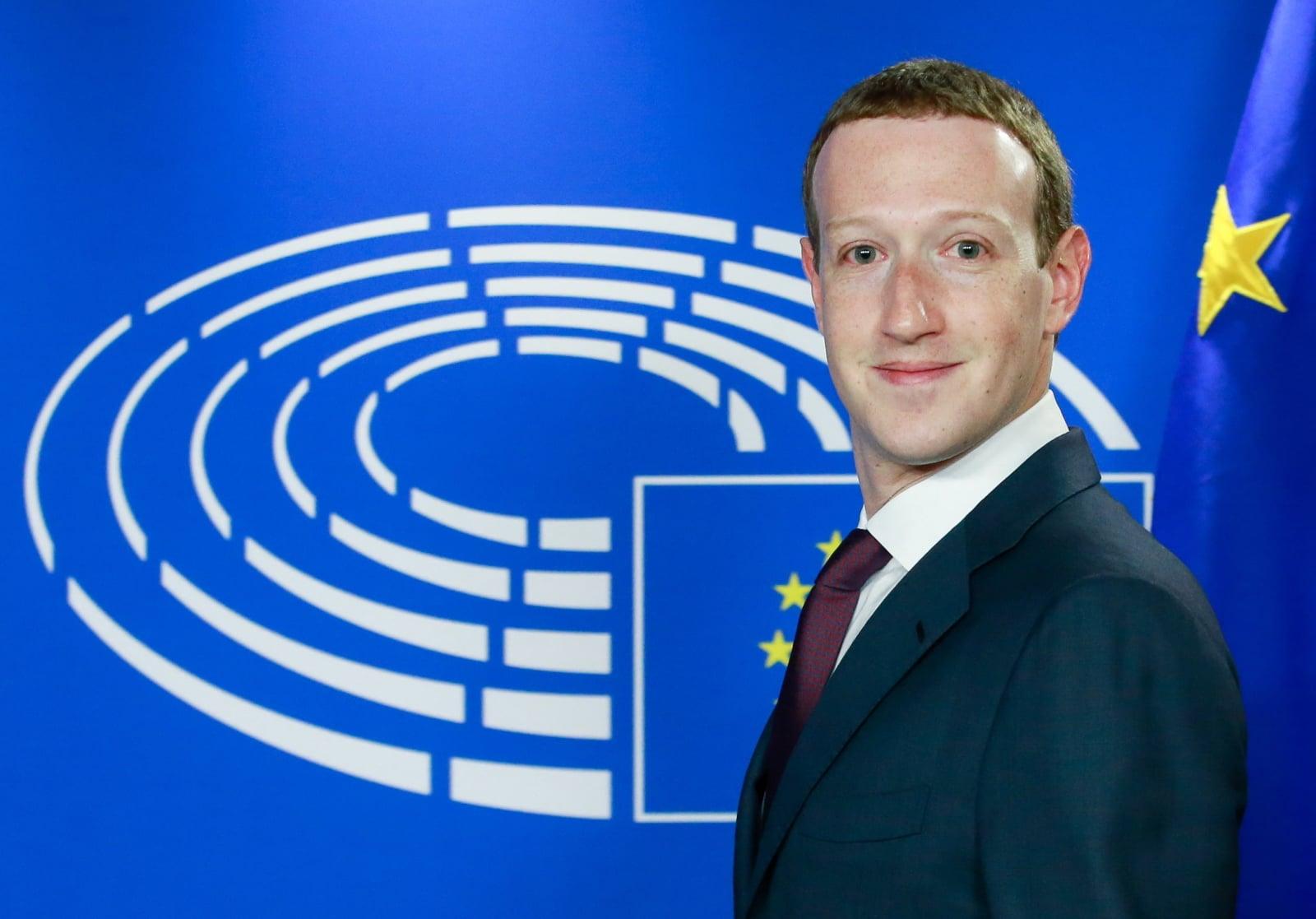 W Brukseli dzisiaj kolejna odsłona przesłuchania szefa Facebooka - Marka Zuckerberga
