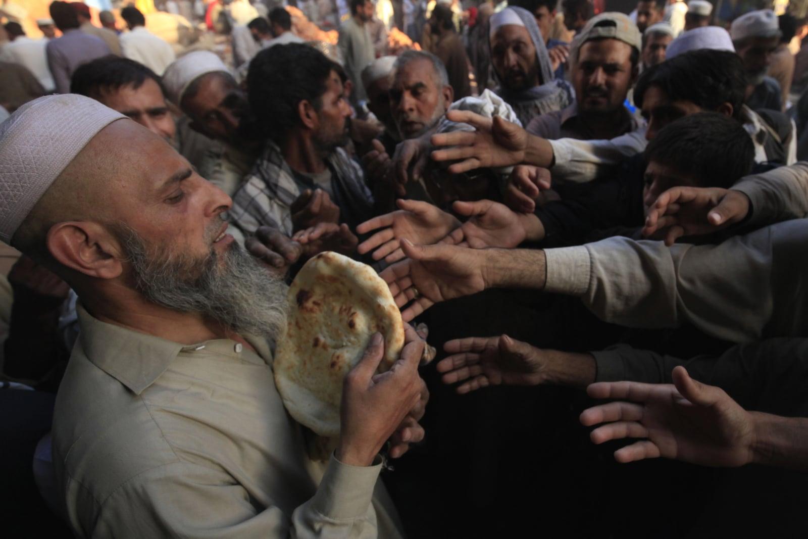Ulice Pakistanu w czasie islamskiego Ramadanu