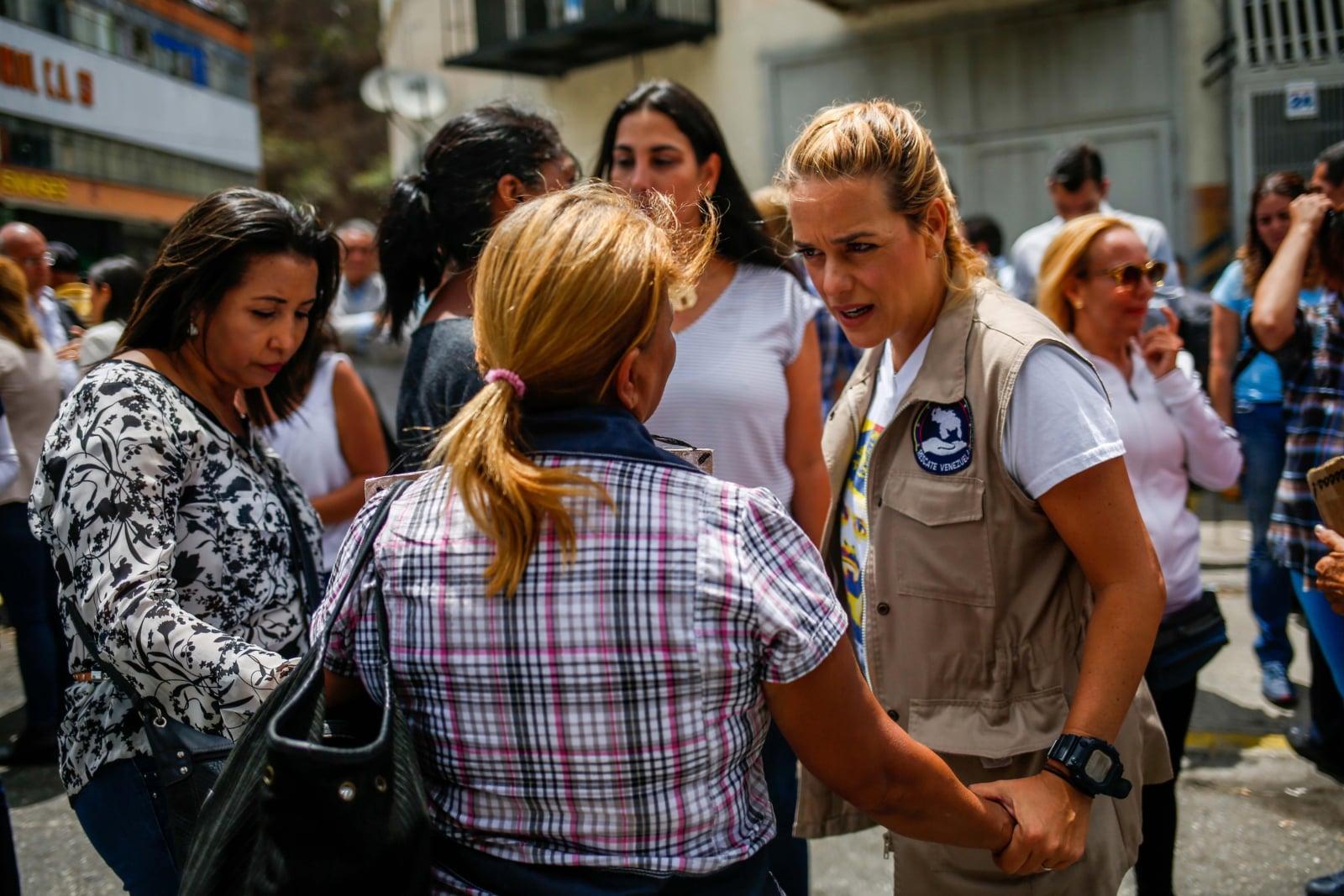 W Caracas, we Wenezueli pogłębia się ekonomiczny kryzys, co sprzyja codziennym protestom