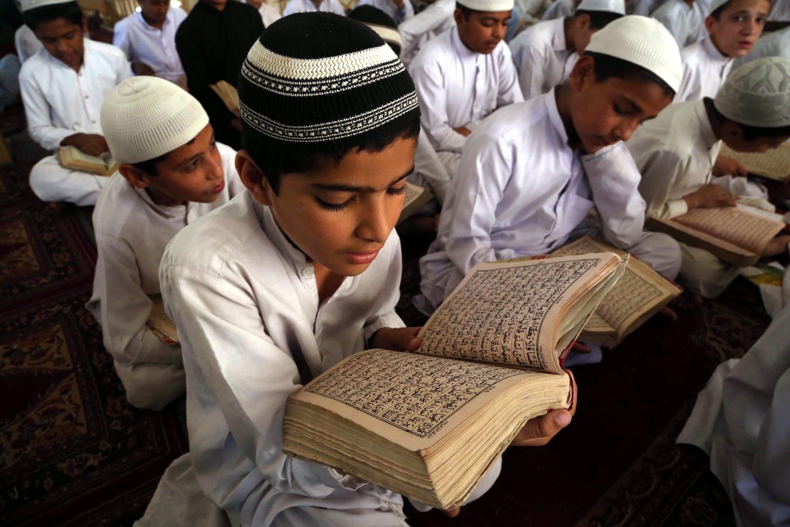 Muzułmanie w Afganistanie  EPA/GHULAMULLAH HABIBI