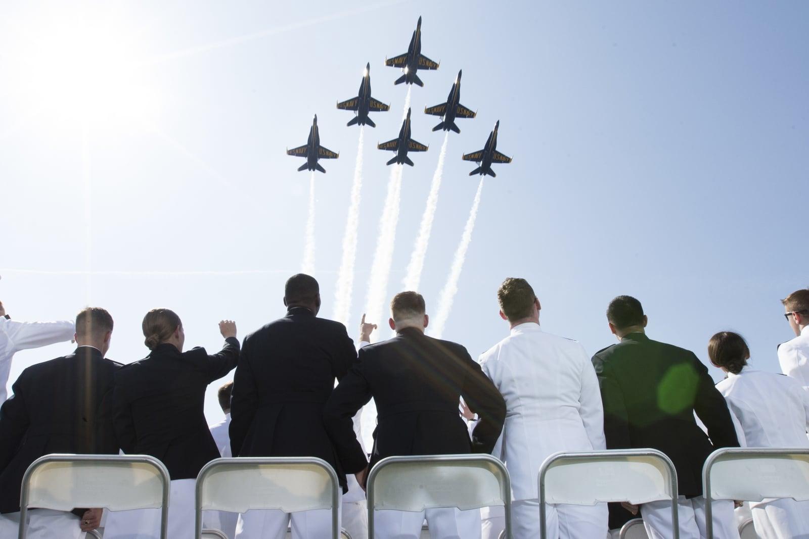 US Navy Academy fot. EPA/MICHAEL REYNOLDS