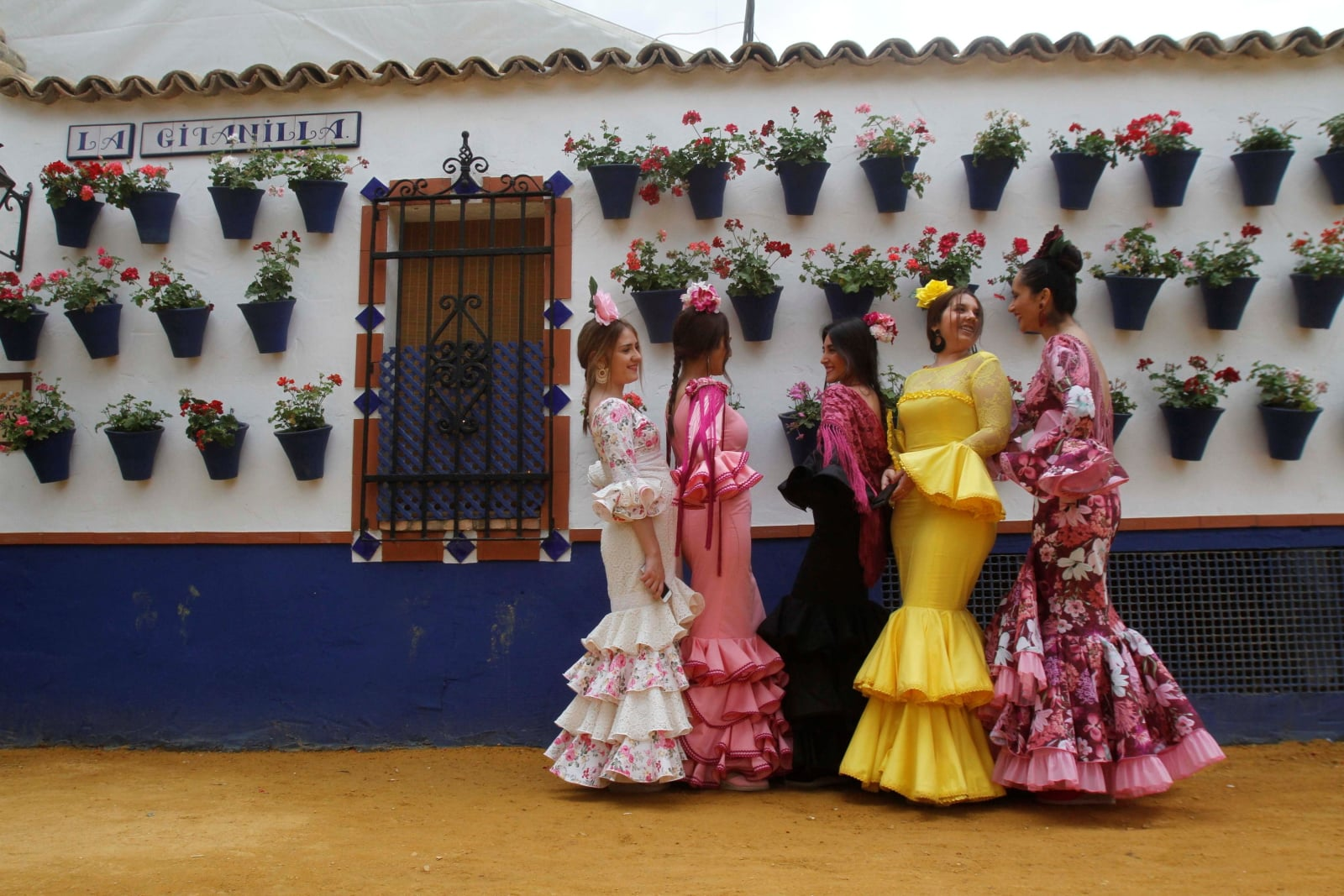 Hiszpańska tradycja flamenco fot. EPA/SALAS