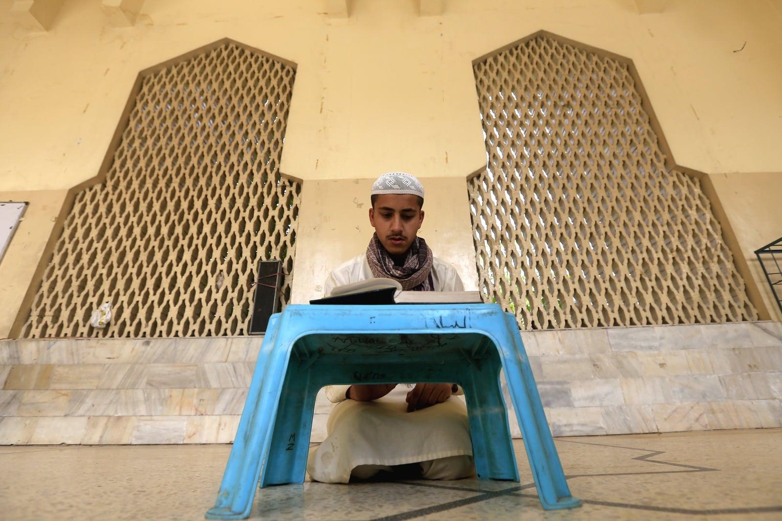 Ramadan w Pakistanie fot. EPA/ARSHAD ARBAB