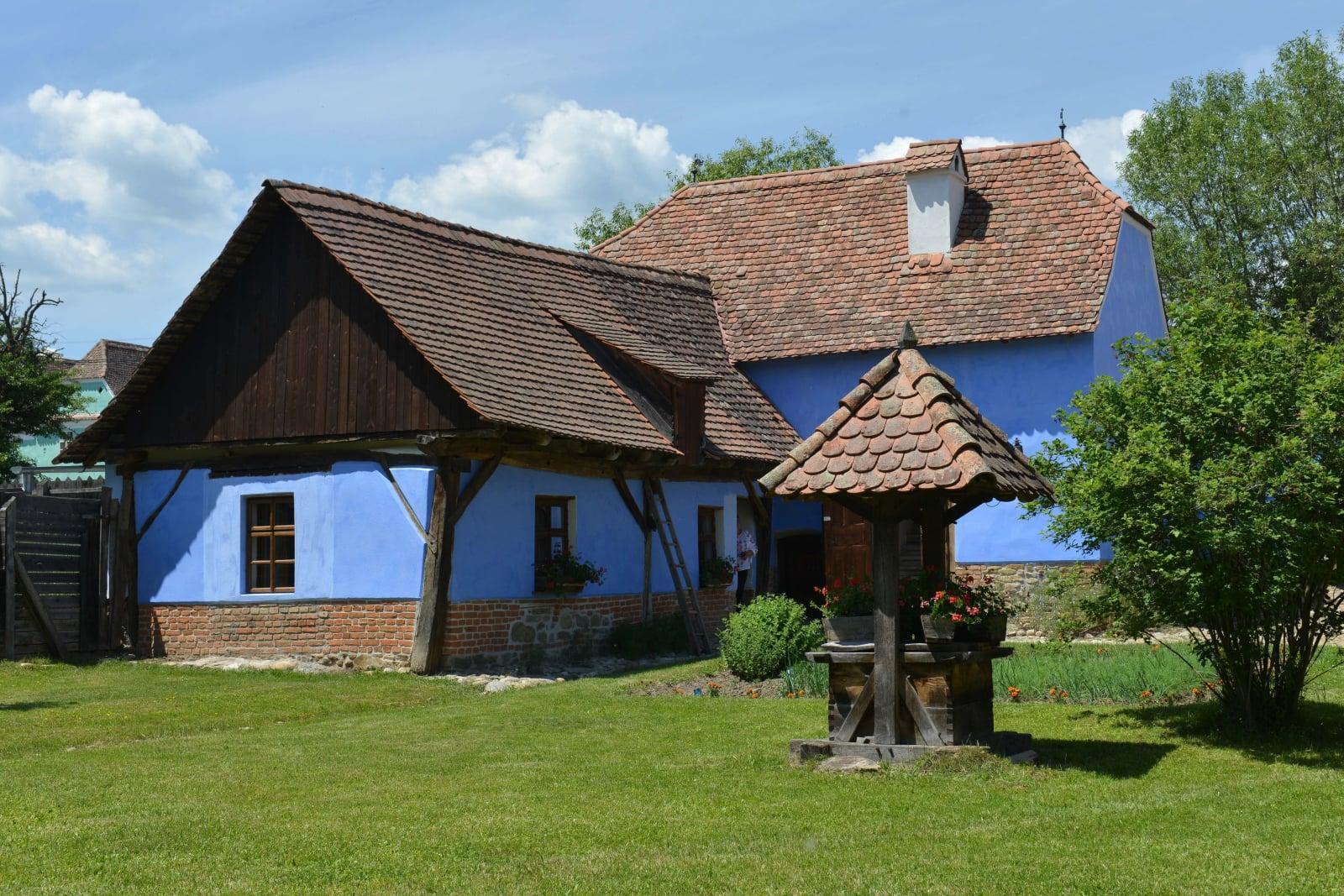 Dom brytyjskiego księcia Karola, księcia Walii, w Viscri, w Transylwanii, Rumunia, fot. EPA/EDIT KATAI HUNGARY OUT