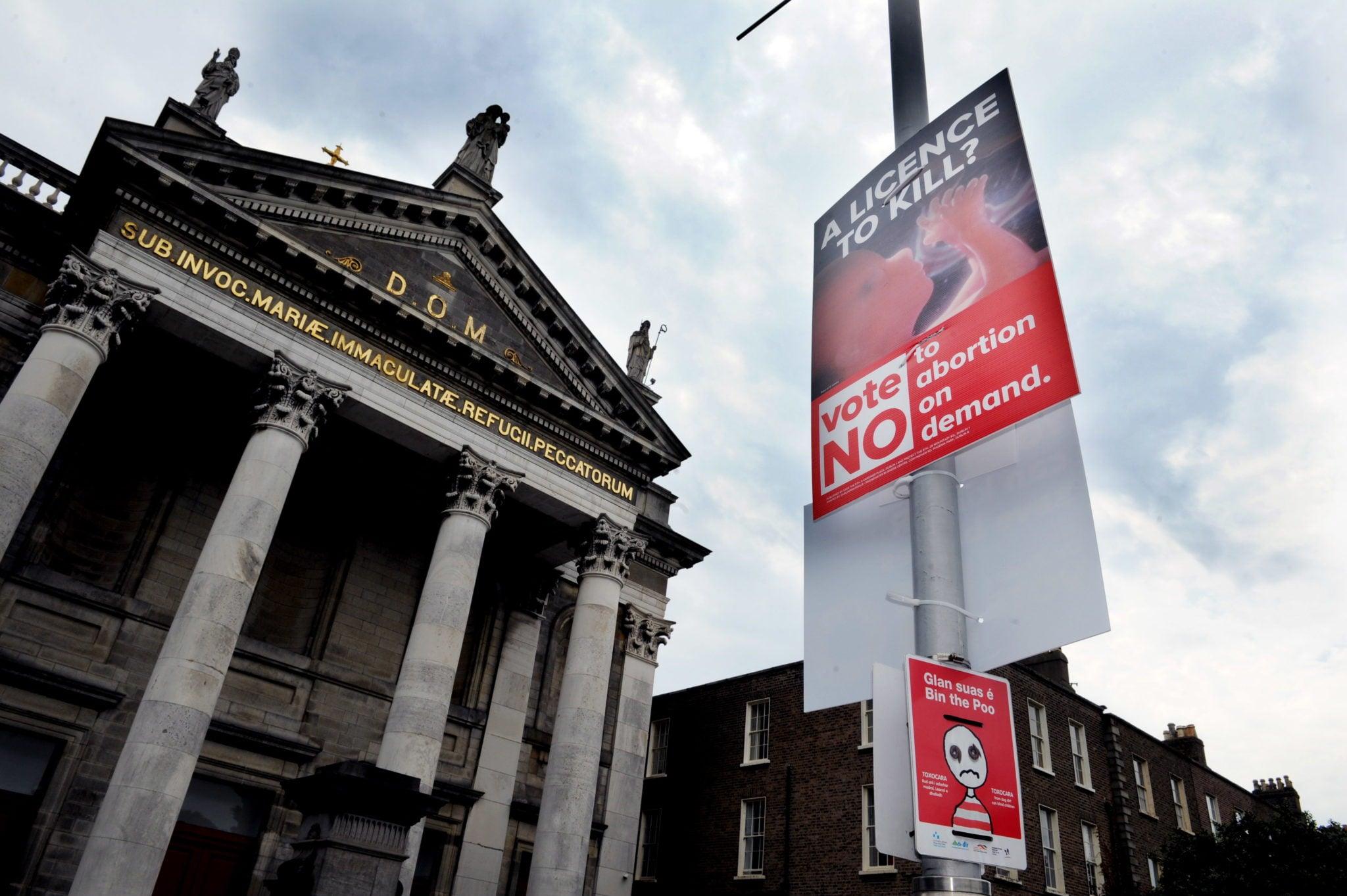 referendum dotyczące aborcji, Irlandia