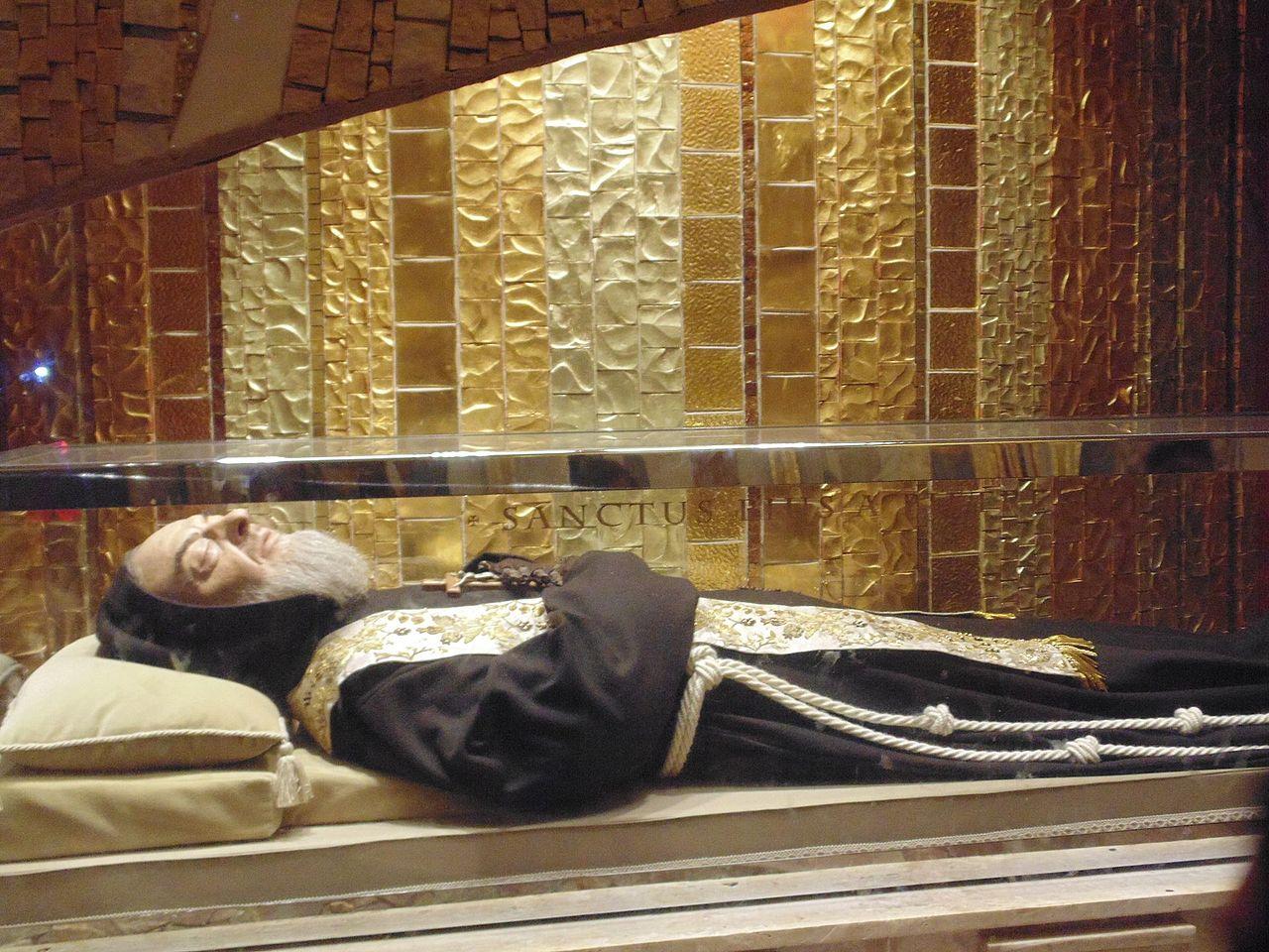 Święty Ojciec Pio, fot. Wikipedia