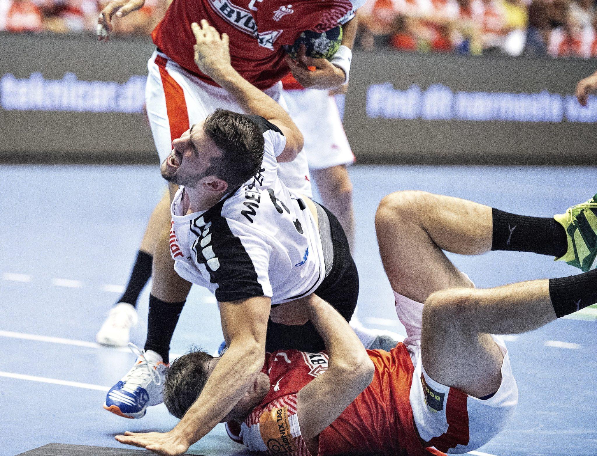 Dania: mecz towarzyszki piłki ręcznej ze Szwajcarią, fot: Henning Bagger, PAP/EPA