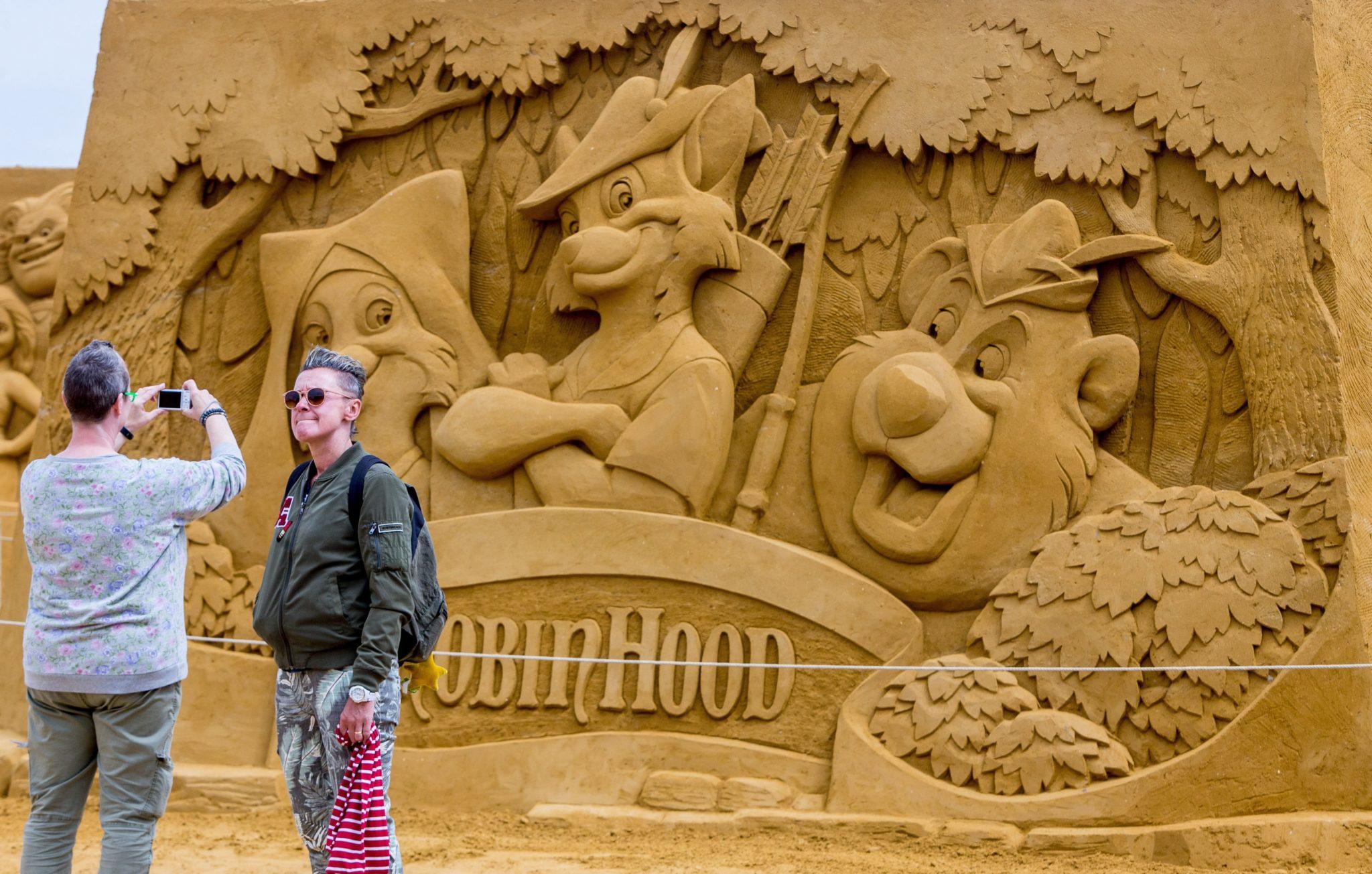"Belgia: wystawa ""Disney San Magic"", fot: Stepganie Lecocq, PAP/EPA"