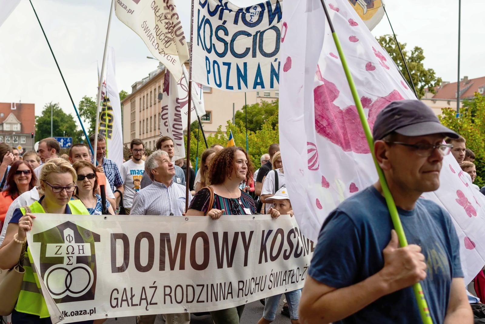 Marsz dla życia fot. PAP/Marek Zakrzewski