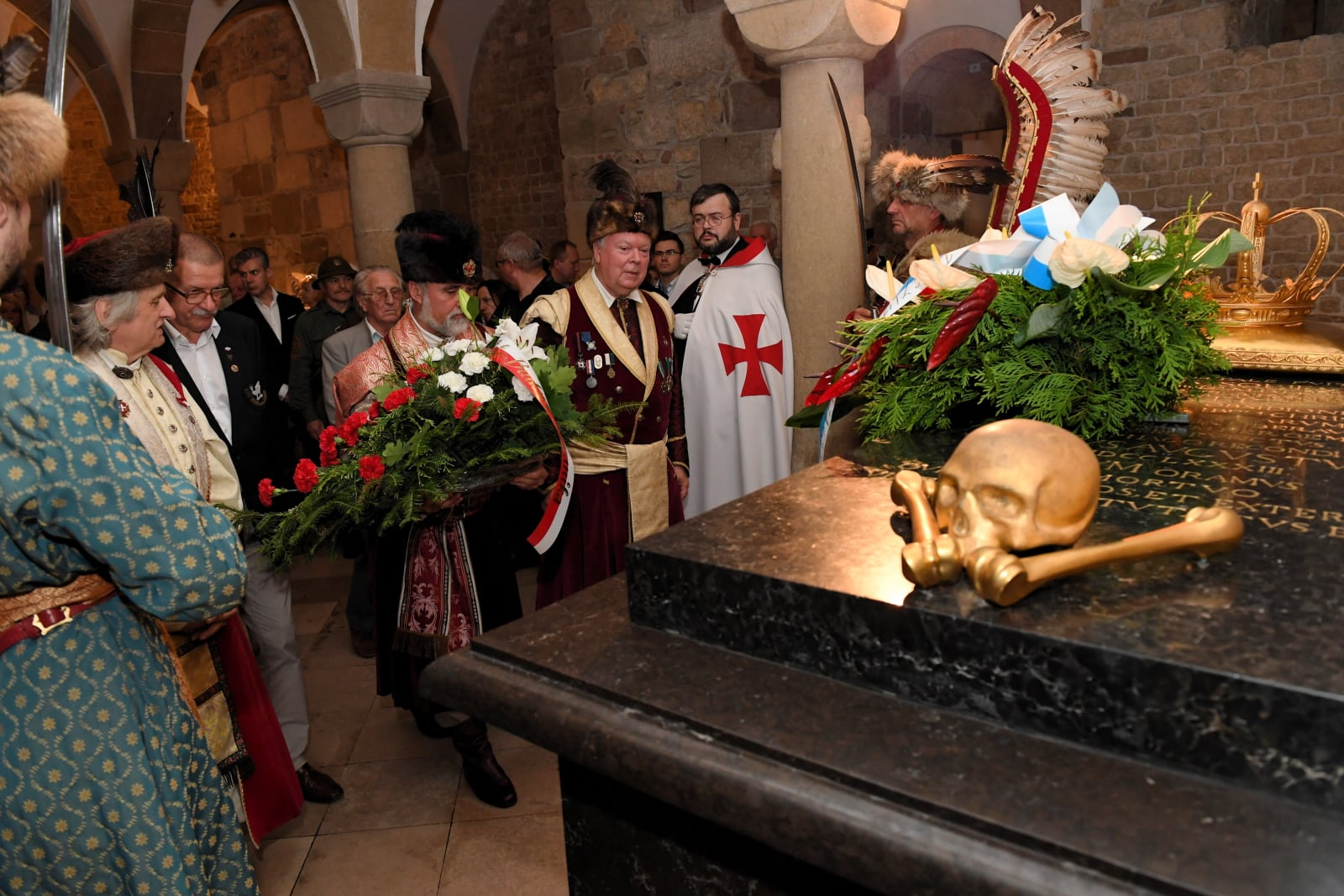 Rocznica śmierci króla Jana III Sobieskiego fot. PAP/Jacek Bednarczyk