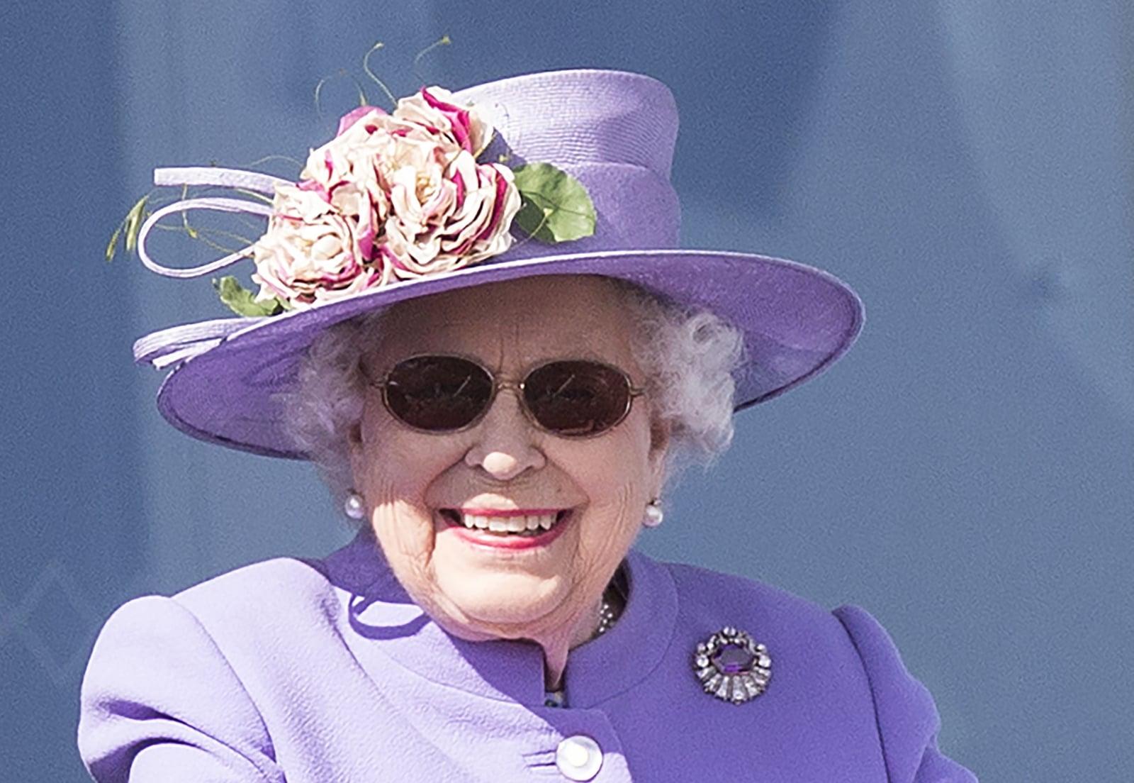 Brytyjska królowa Elżbieta II.