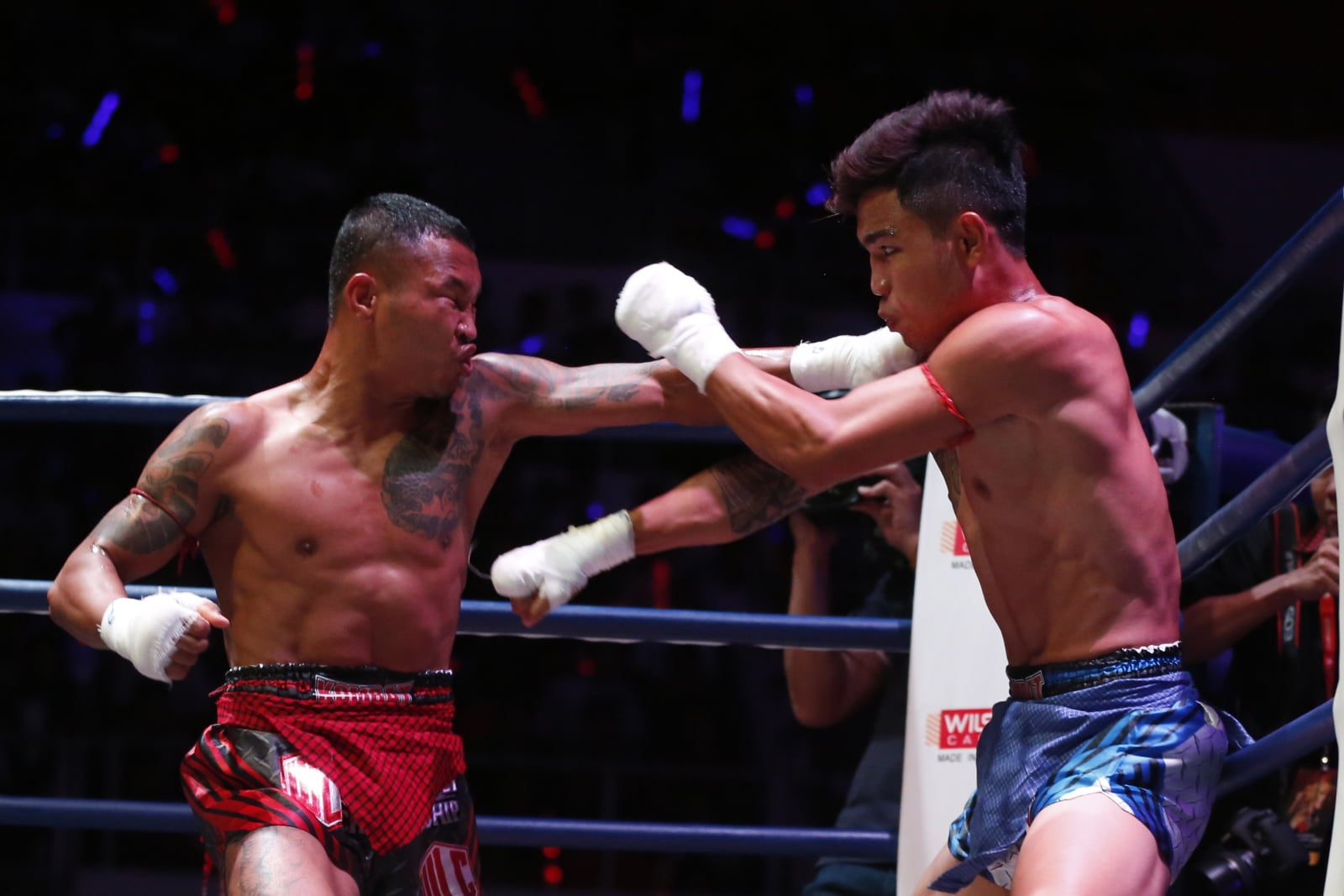Mistrzostwa w boksie birmańskim.