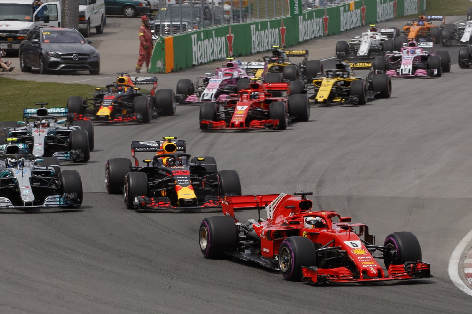 Grand Prix F1 Kanada fot. EPA/VALDRIN XHEMAJ Dostawca: PAP/EPA.
