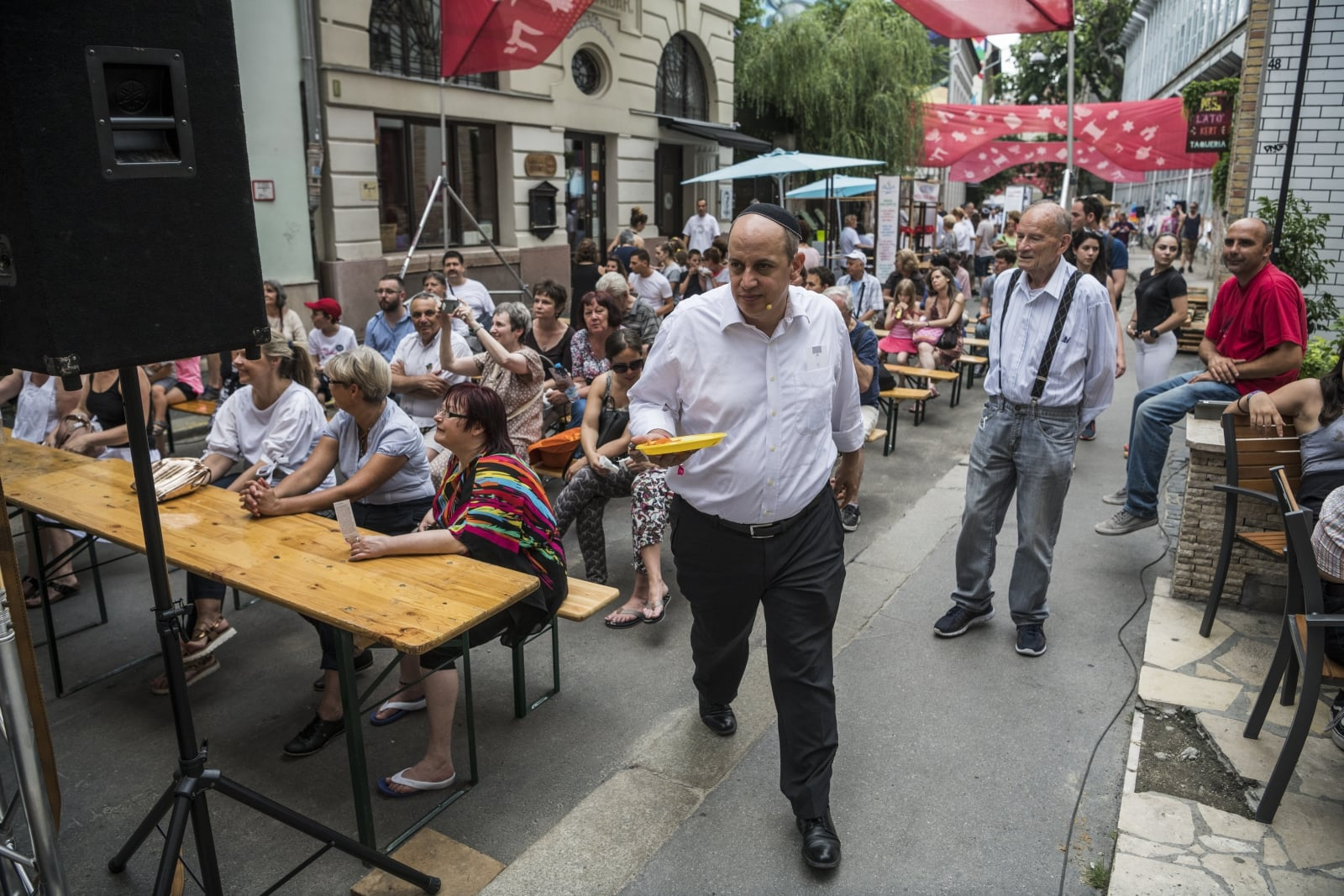 Judafest w Budapeszcie fot. EPA/Marton Monus HUNGARY OUT Dostawca: PAP/EPA.