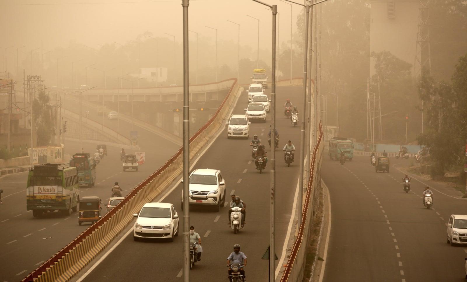Panorama Indii fot. EPA/JAIPAL SINGH Dostawca: PAP/EPA.