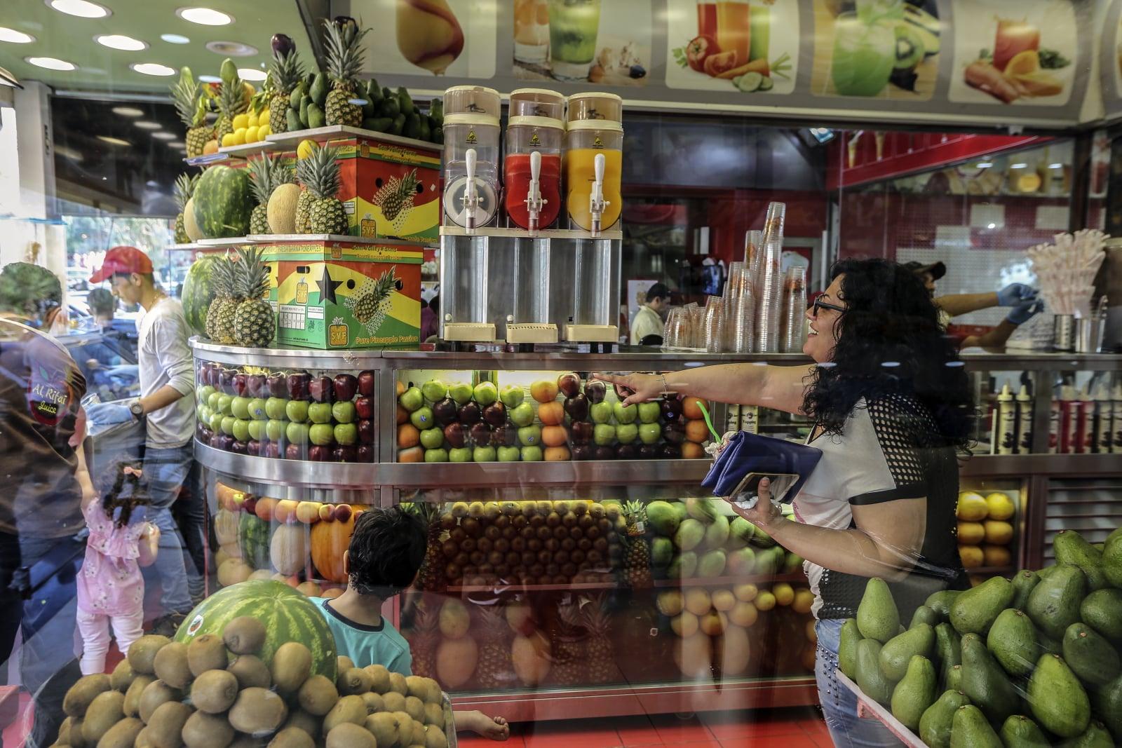 Ramadan w Lebanonie fot. EPA/NABIL MOUNZER Dostawca: PAP/EPA.