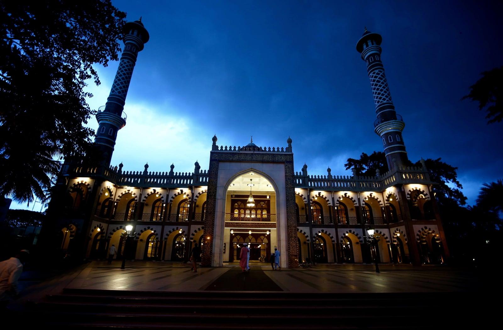 Meczet w Bangladore fot. EPA/JAGADEESH NV