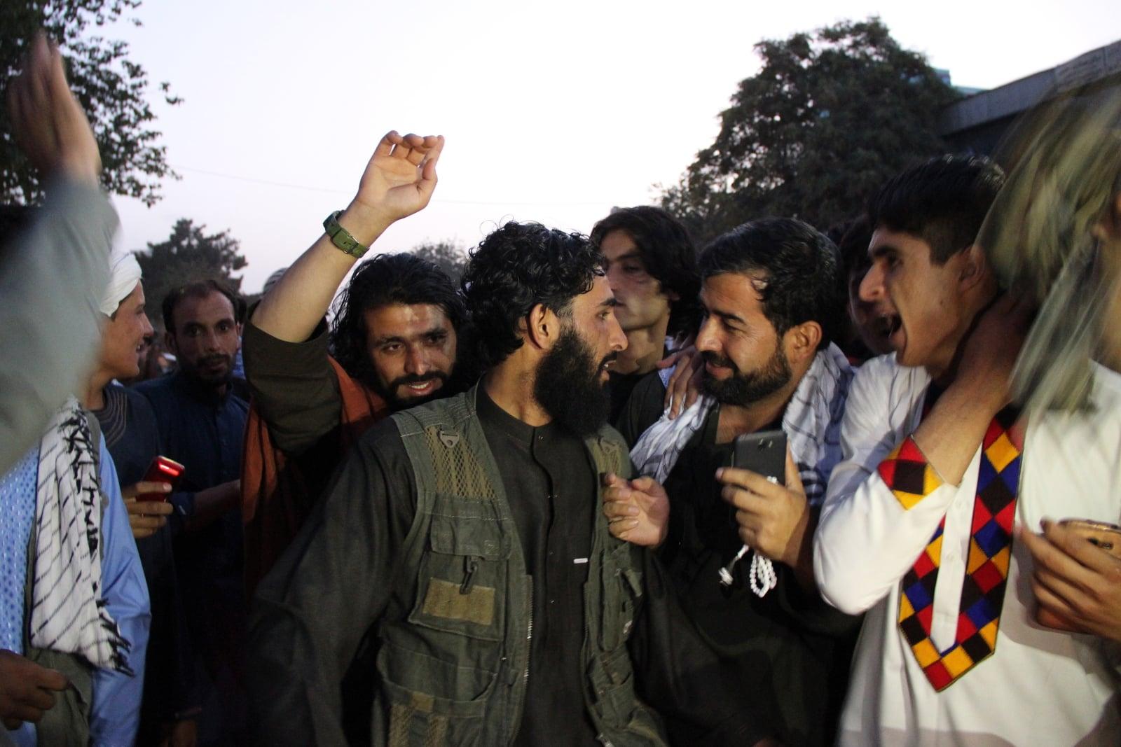 Talbiowie świętują zbliżający się koniec Ramadanu fot. EPA/STRINGER