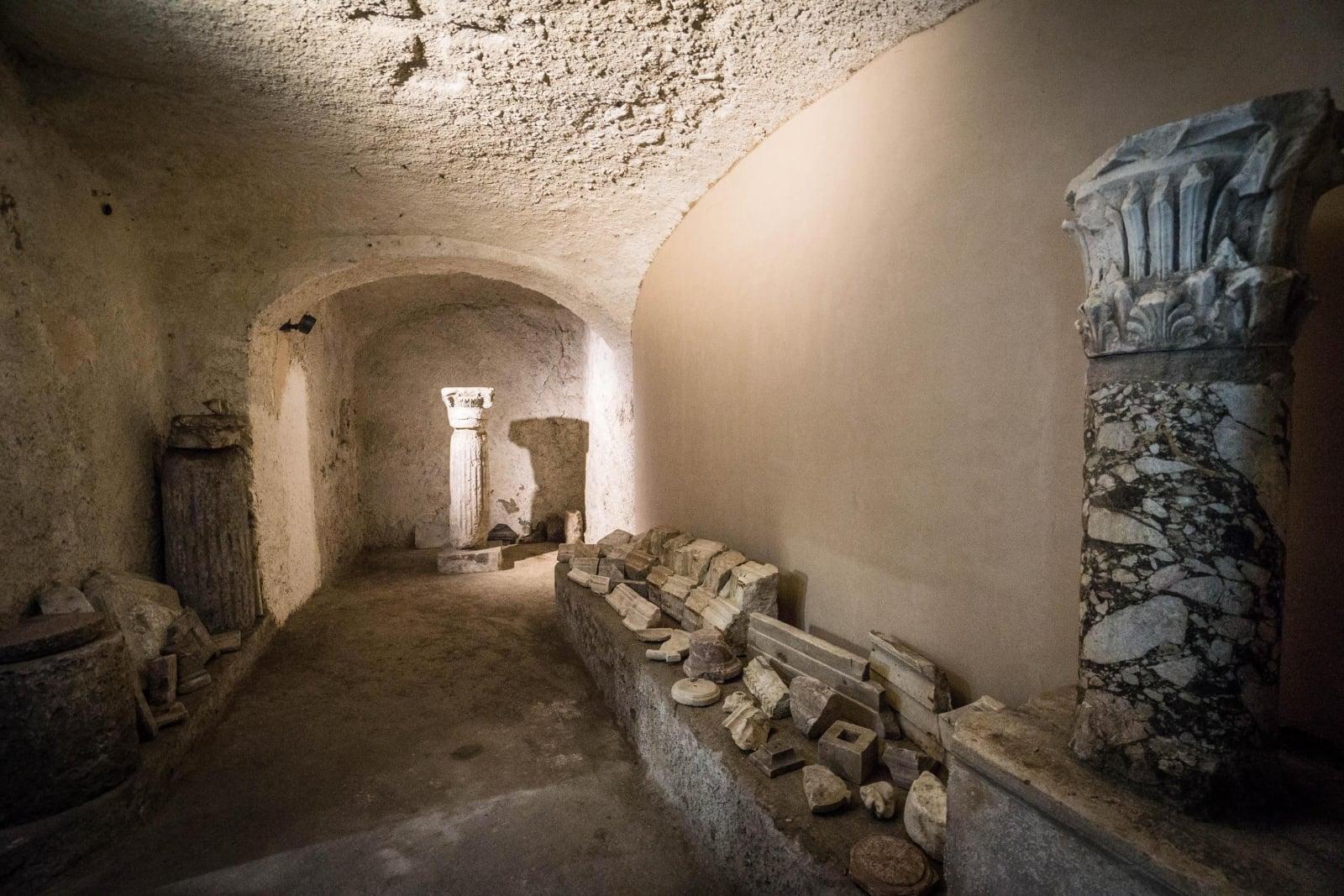 Wykopaliska w Herkulanum fot. EPA/CESARE ABBATE