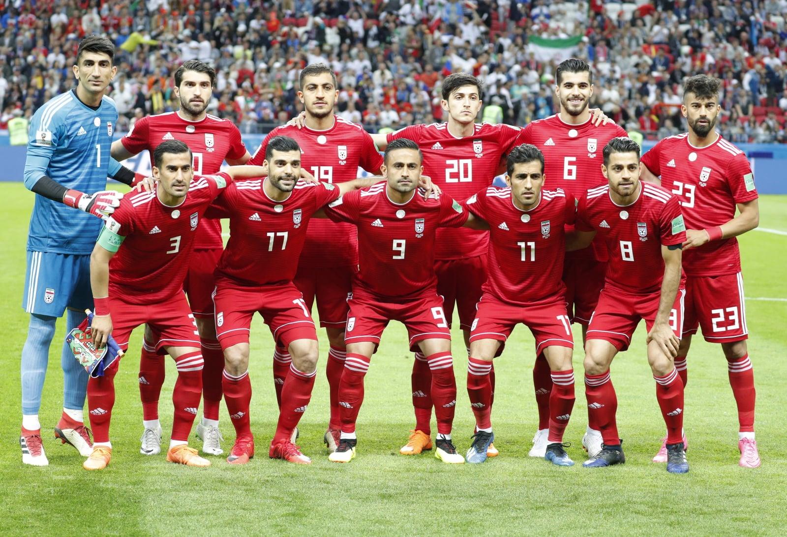 Iran na Mundialu 2018 w meczu z Hiszpanią EPA/ROBERT GHEMENT