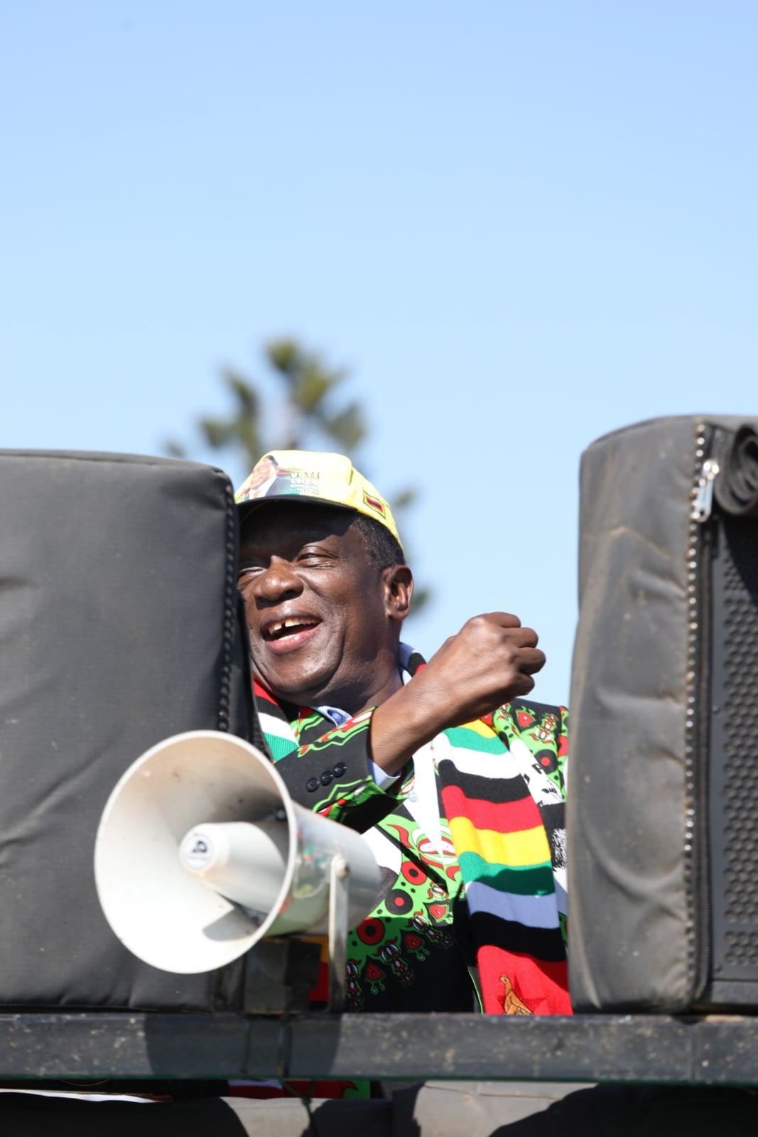 Wybory w Zimbabwe fot. EPA/AARON UFUMELI