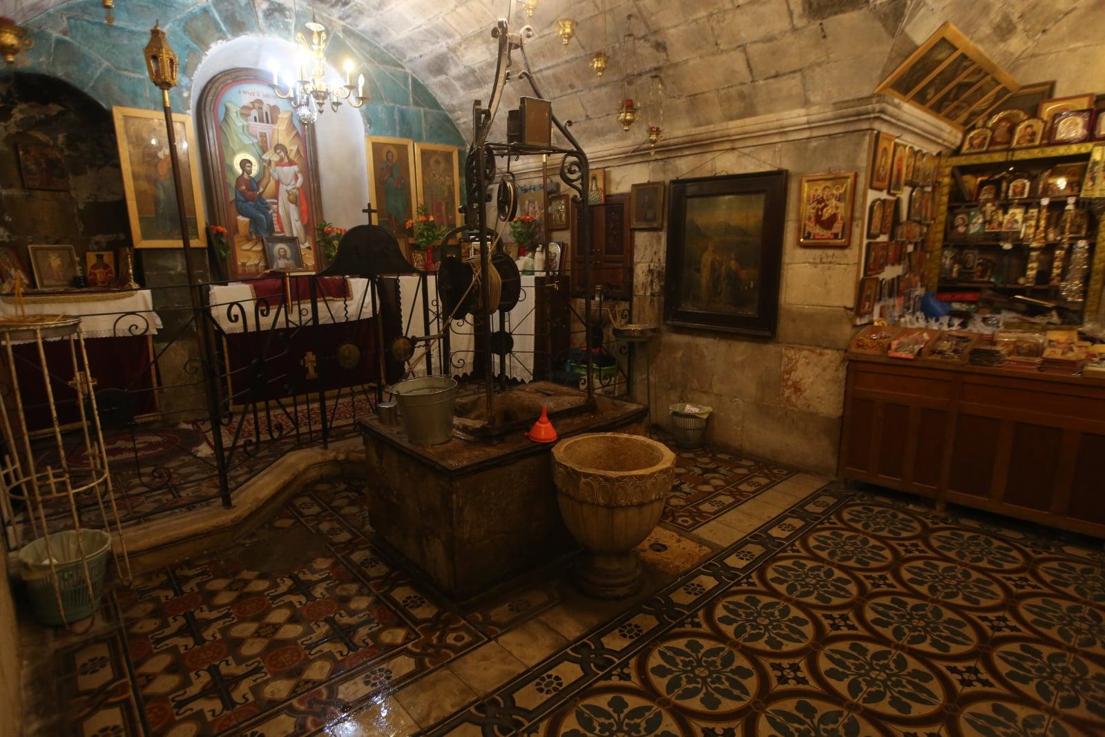 Kościół św. Jakuba w Tell Balata fot. EPA/ALAA BADARNEH Dostawca: PAP/EPA.