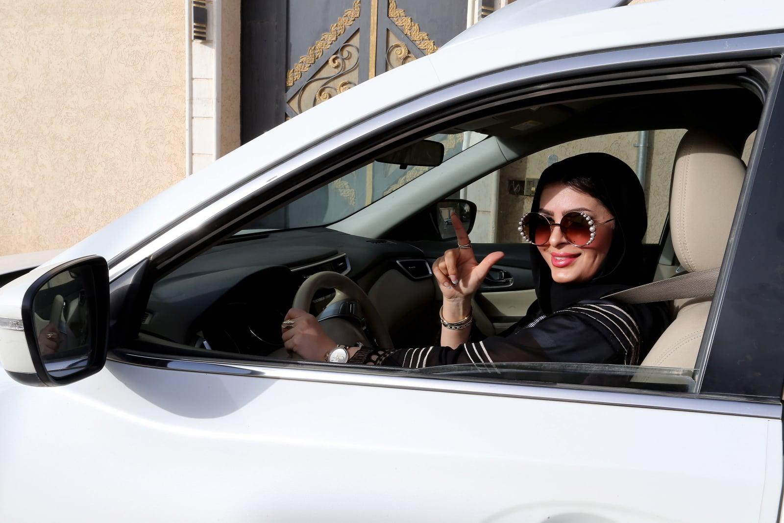 Prawo do prowadzenia pojazdów dla kobiet w Arabii Saudyjskiej fot. EPA/AHMED YOSRI Dostawca: PAP/EPA.