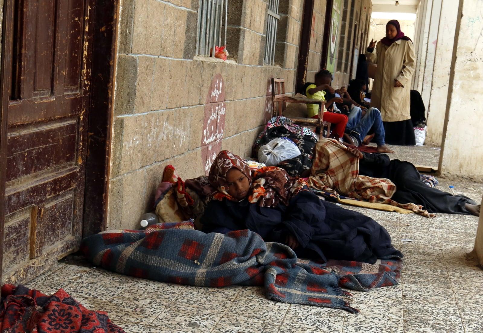 Konflit w Jemenie fot. EPA/YAHYA ARHAB Dostawca: PAP/EPA.