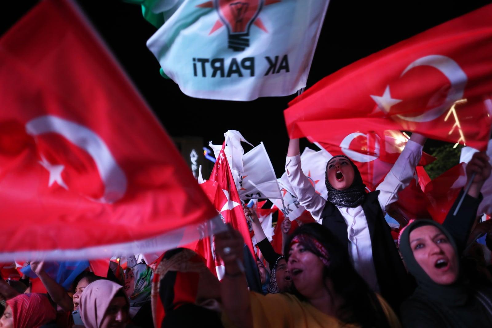 Wybory w Turcji fot. EPA/ERDEM SAHIN Dostawca: PAP/EPA.