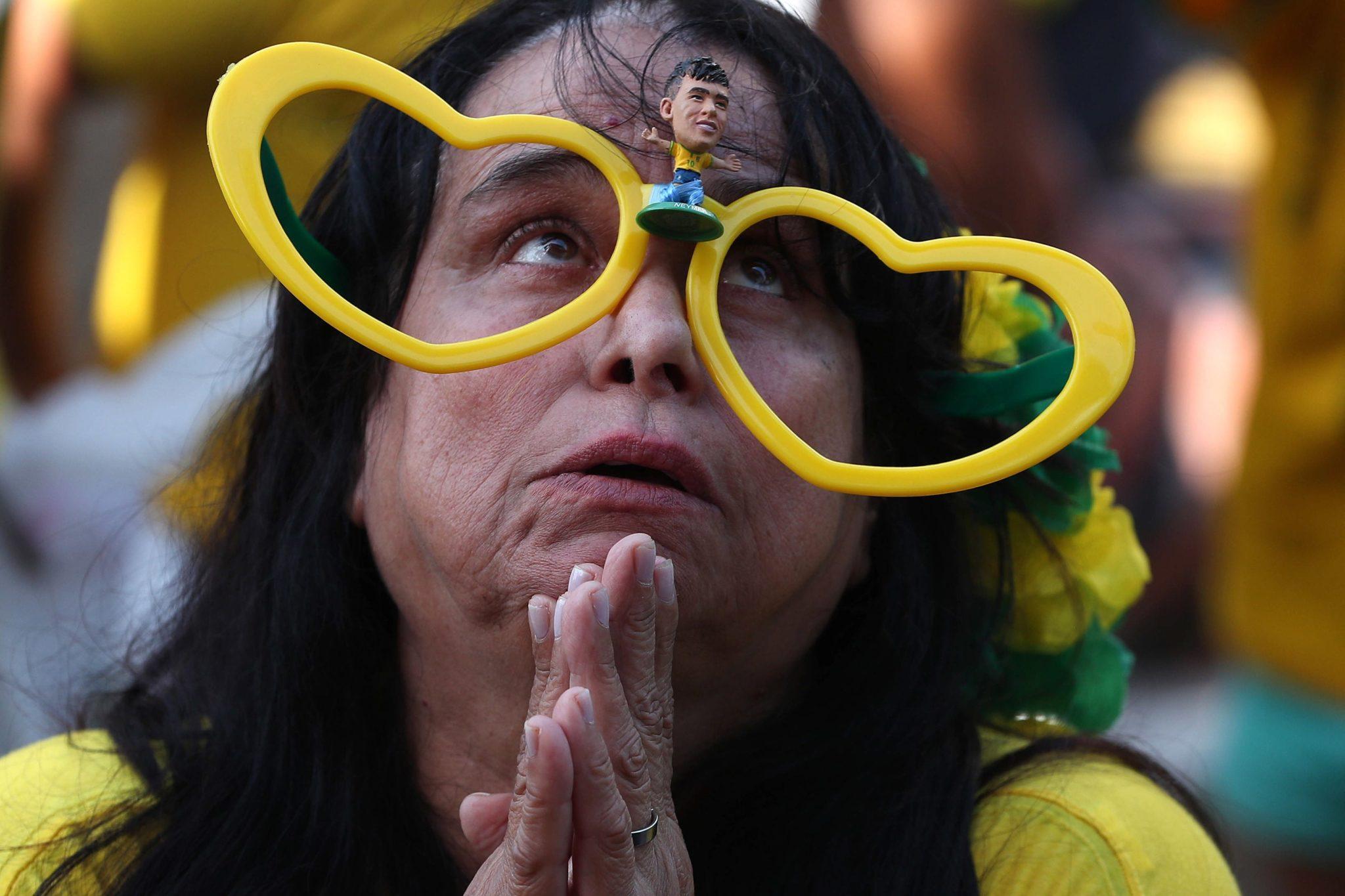 Zdjęcie: fani brazylijskiej dużyny, for: Diego Azubel, PAP/EPA