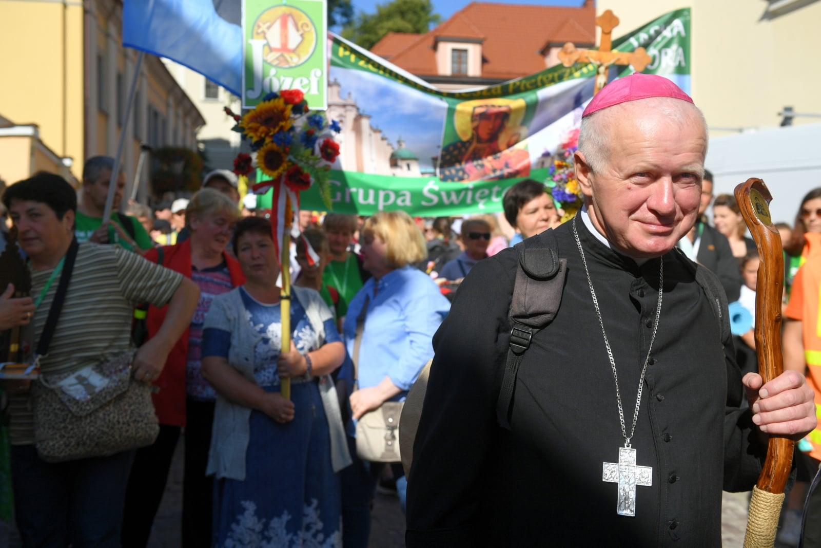 Przemyska Archidiecezjalna Piesza Pielgrzymka na Jasną Górę  PAP/Darek Delmanowicz