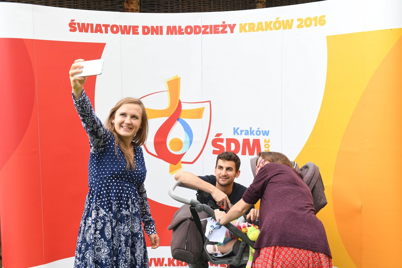 II rocznica ŚDM w Krakowie