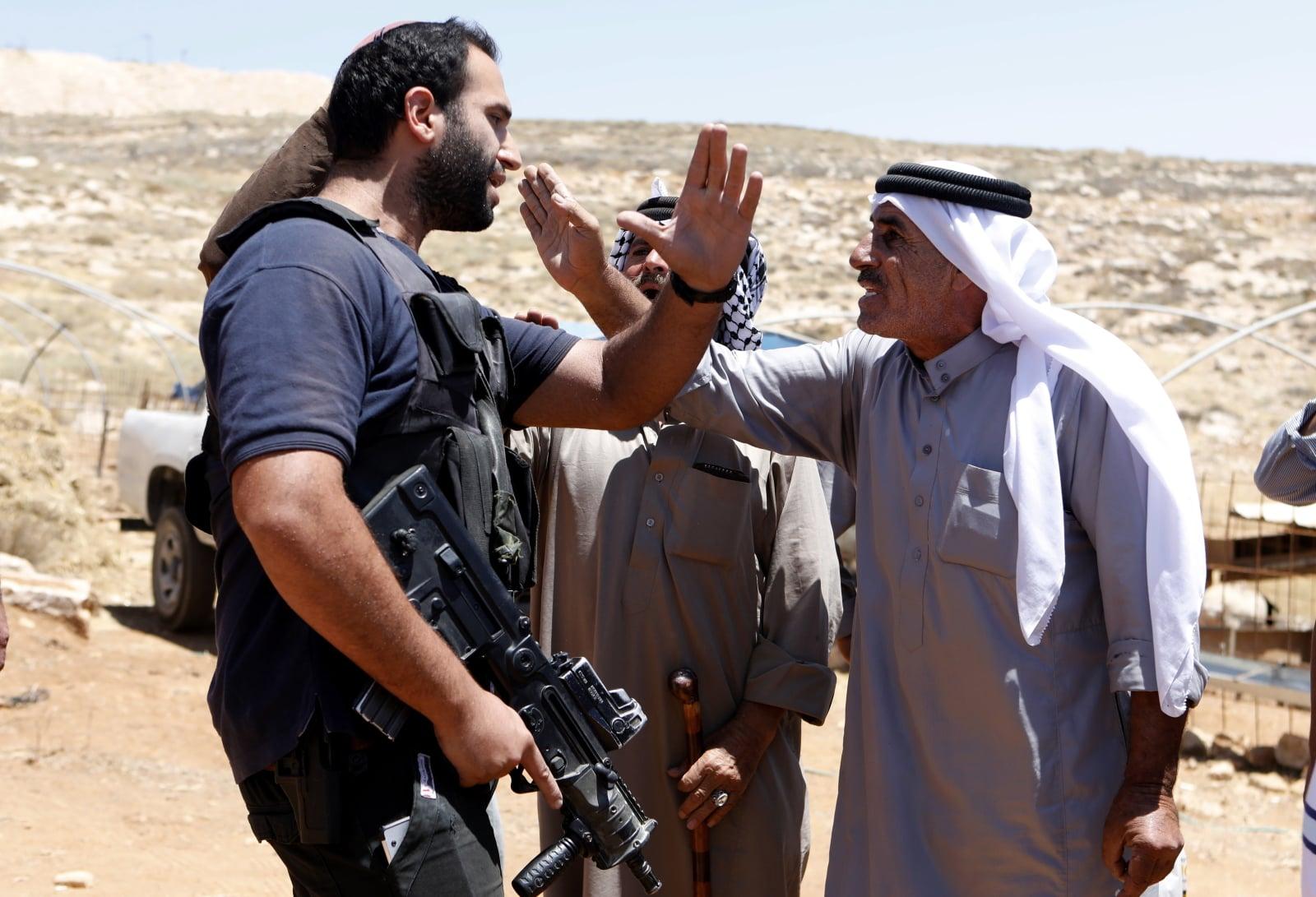 Konflit Izraelsko - Palestyński fot. EPA/ABED AL HASHLAMOUN