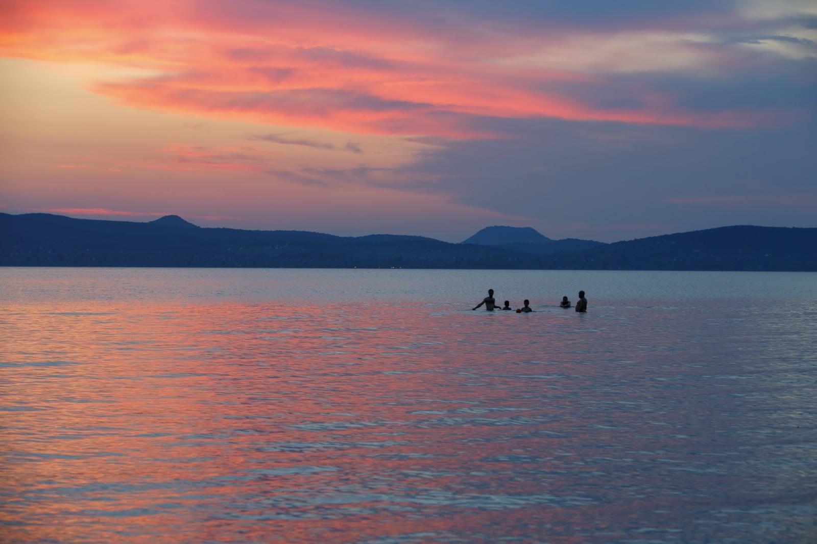 Jezioro Balaton (Węgry) EPA/GYORGY VARGA
